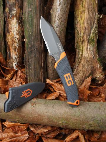 Überlebenskünstler Gerber Bear Grylls Compact Fixed Blade