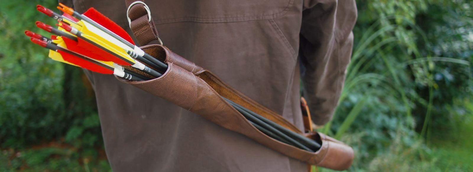 Upshot Archery Sidedraw Quiver - Auf dem Rücken