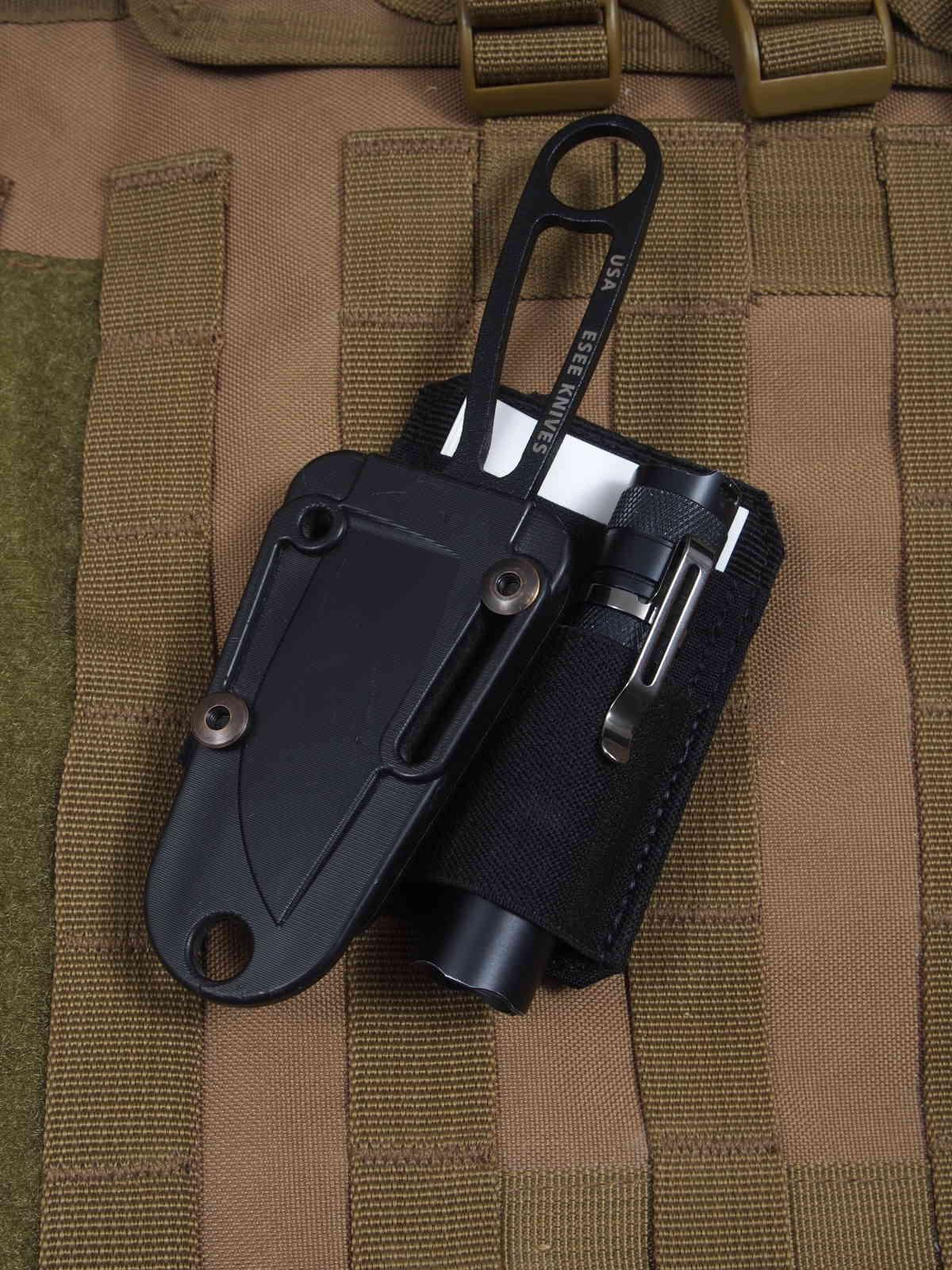 5.11Tactical Tablet Carrier - Light-Write Patch mit kleinem Fixed und Taschenlampe