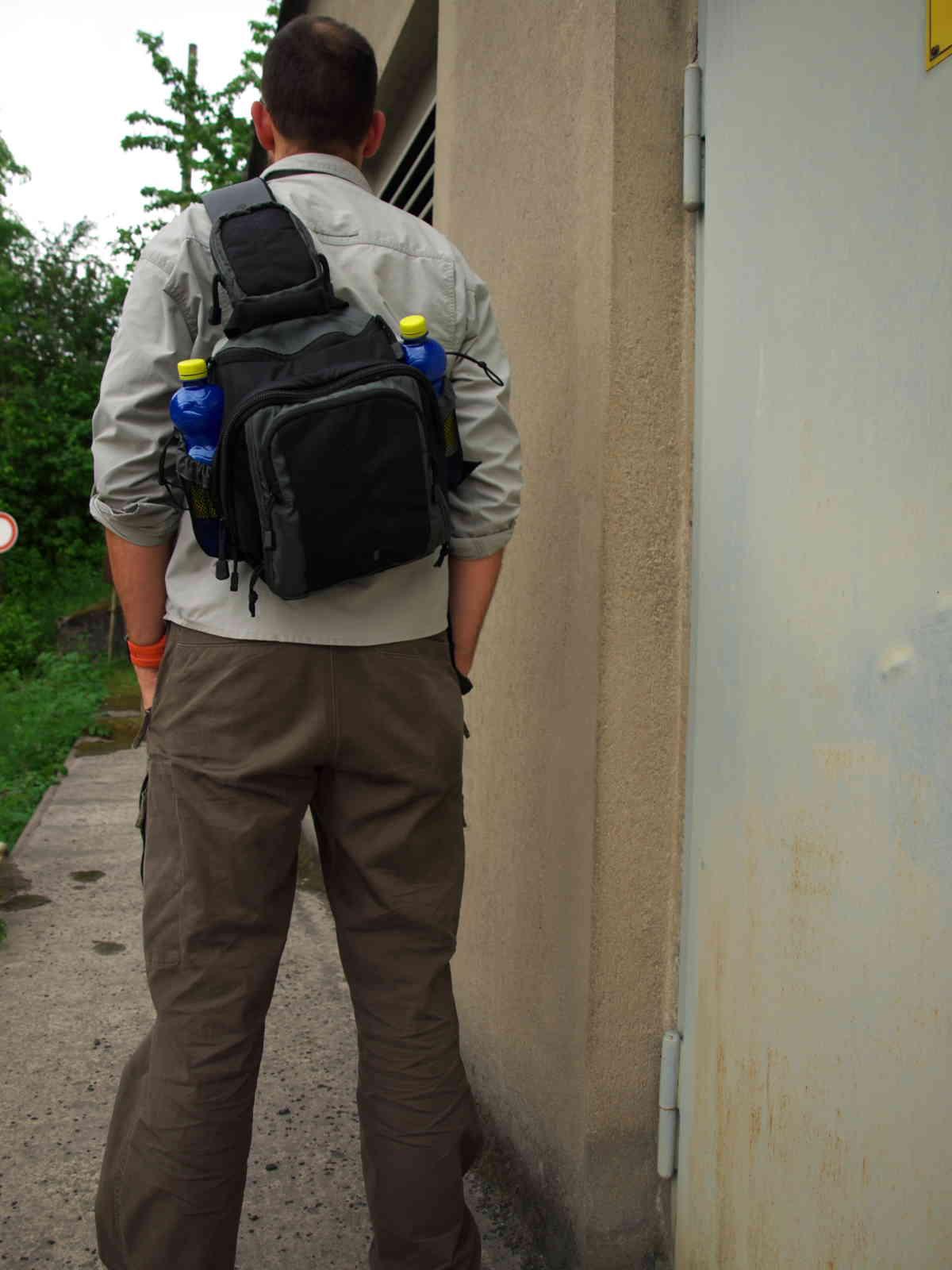 Z.A.P.6 auf dem Rücken