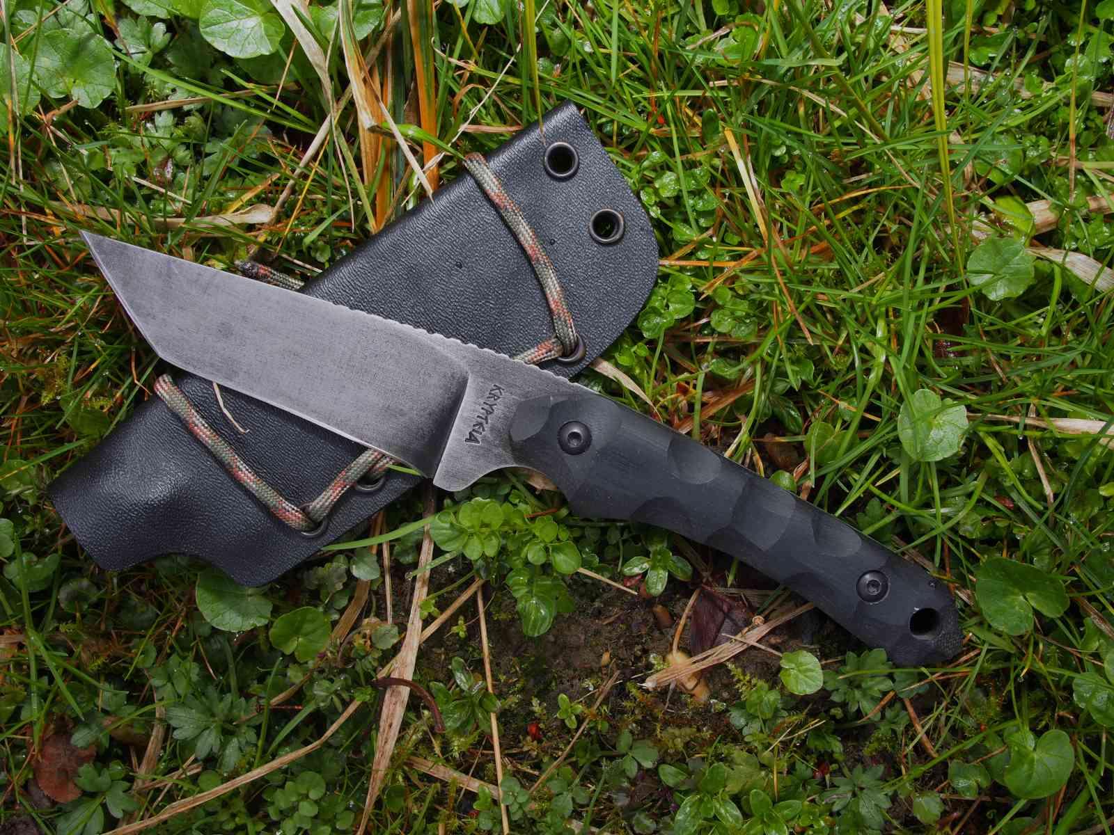 Krypteia Knives Griffin Tanto mit Kydex-Scheide