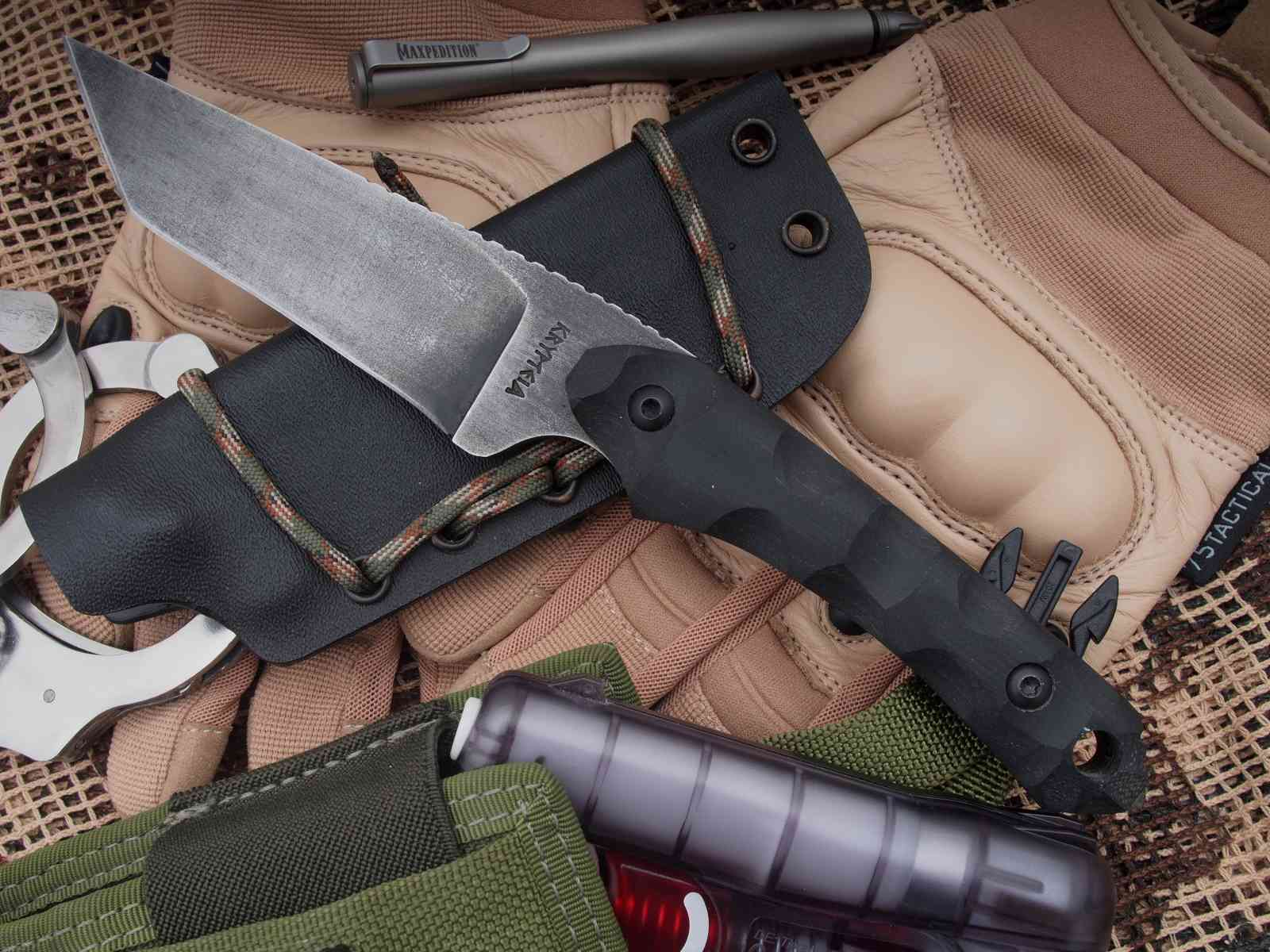 Krypteia Knives Griffin Tanto