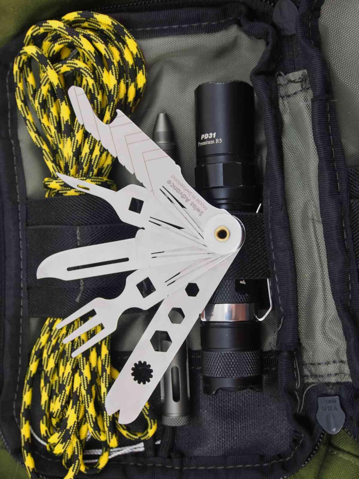 Swiss Advance Taschenmesser - Alle Funktionen auf einem Blick