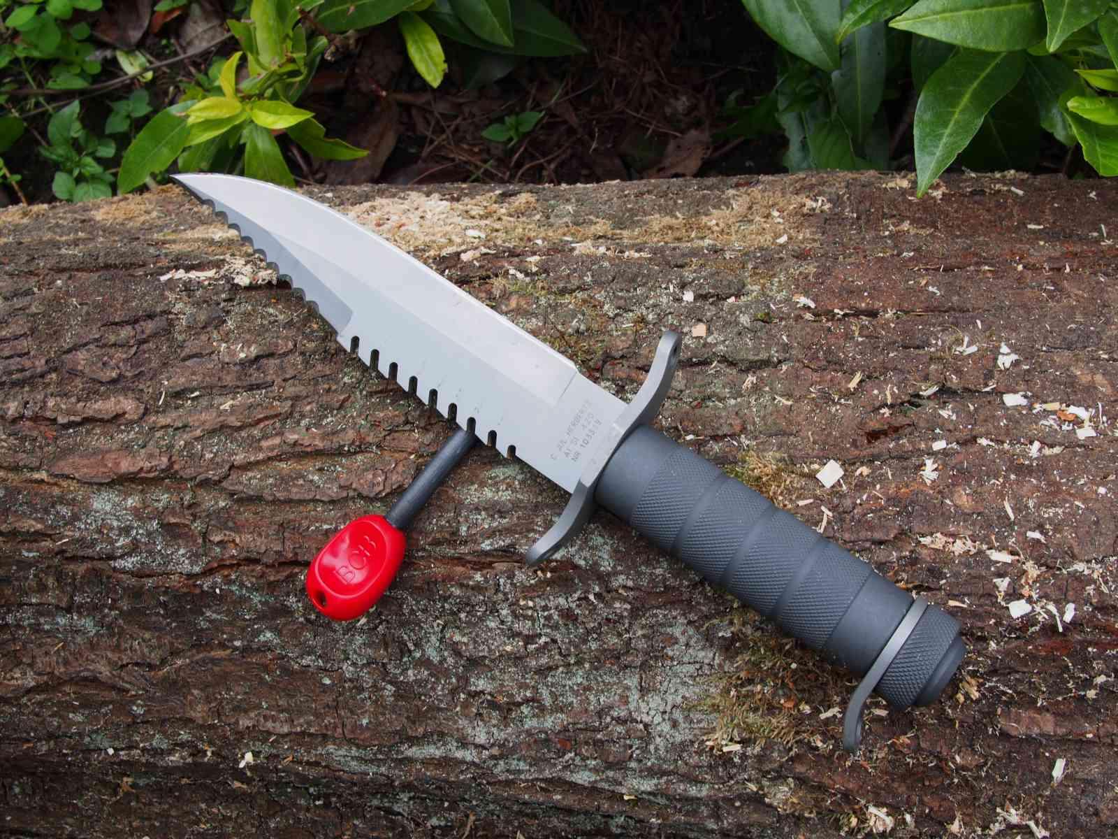 Herbertz Survival-Messer mit Feuerstahl
