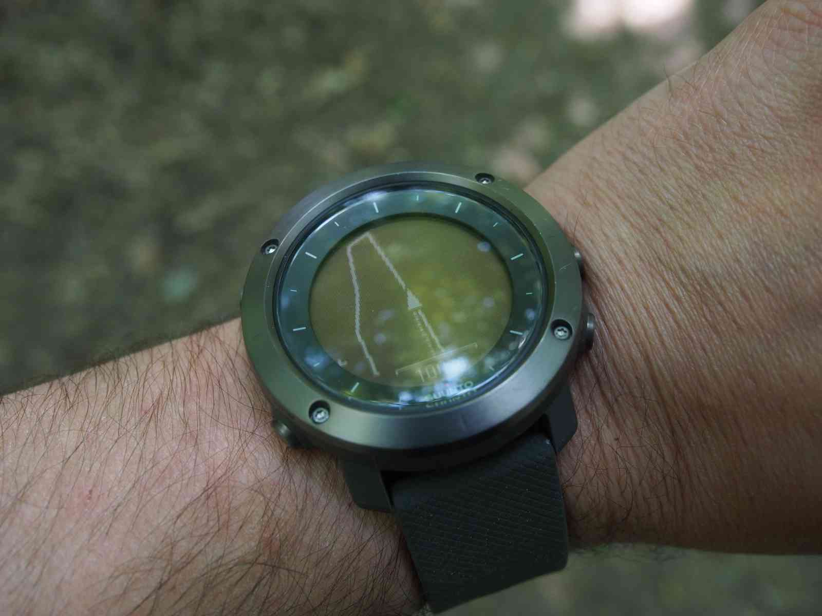 Suunto Traverse - GPS-Tracking