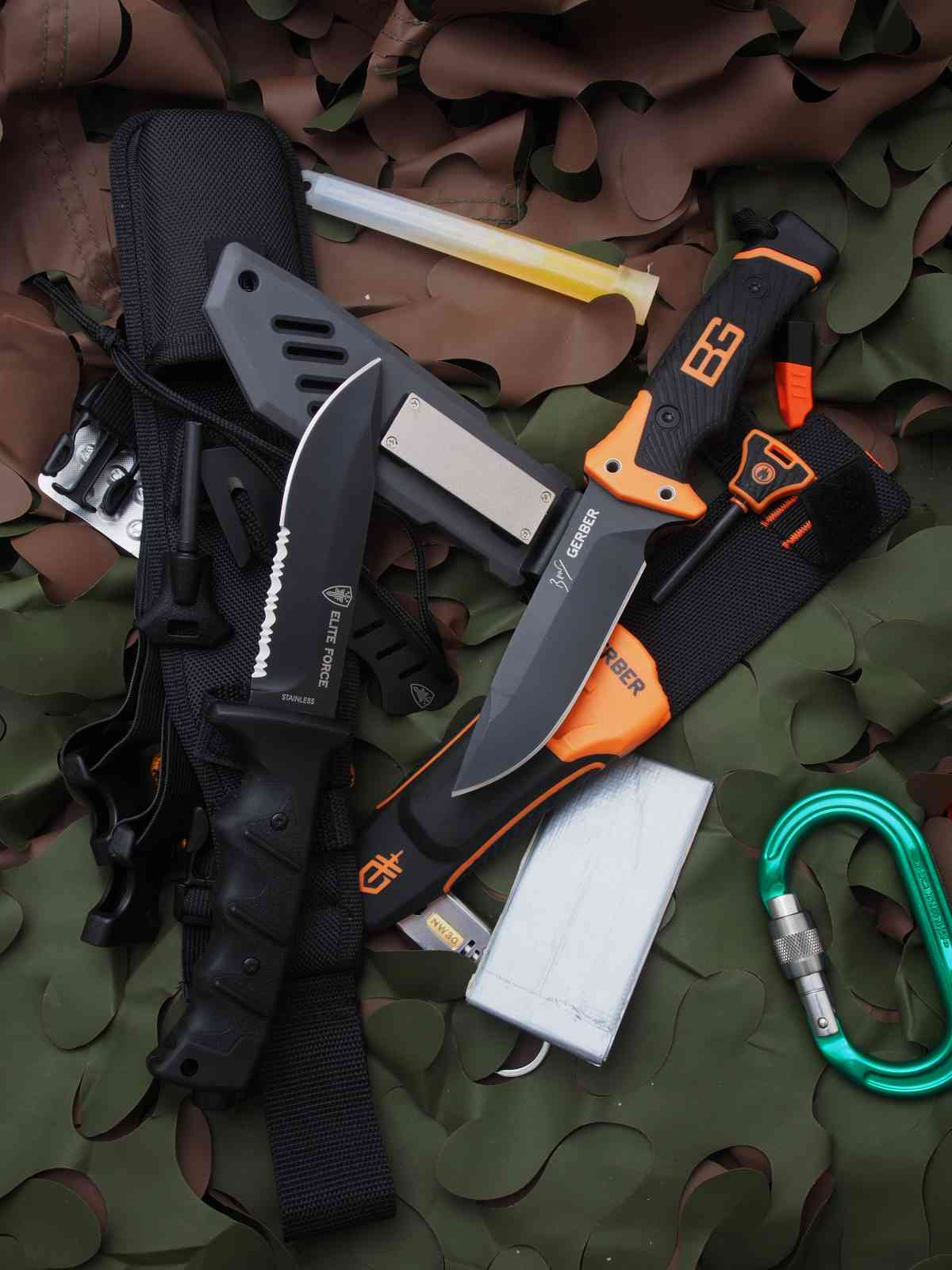 Umarex Elite Force EF 703 Kit oder Gerber Bear Grylls Ultimate