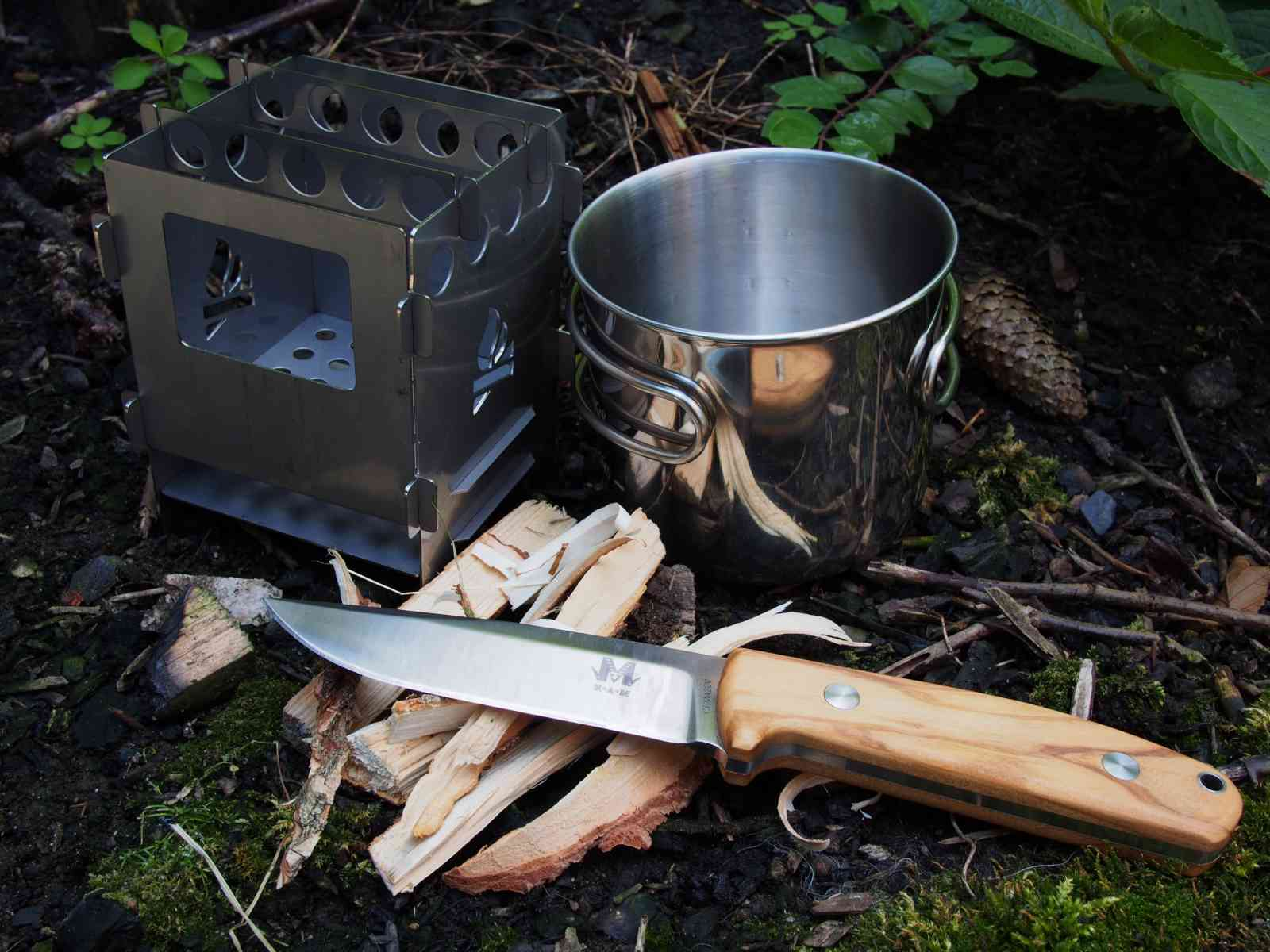 Bushcraft Essentials Bushbox - Vorbereitung