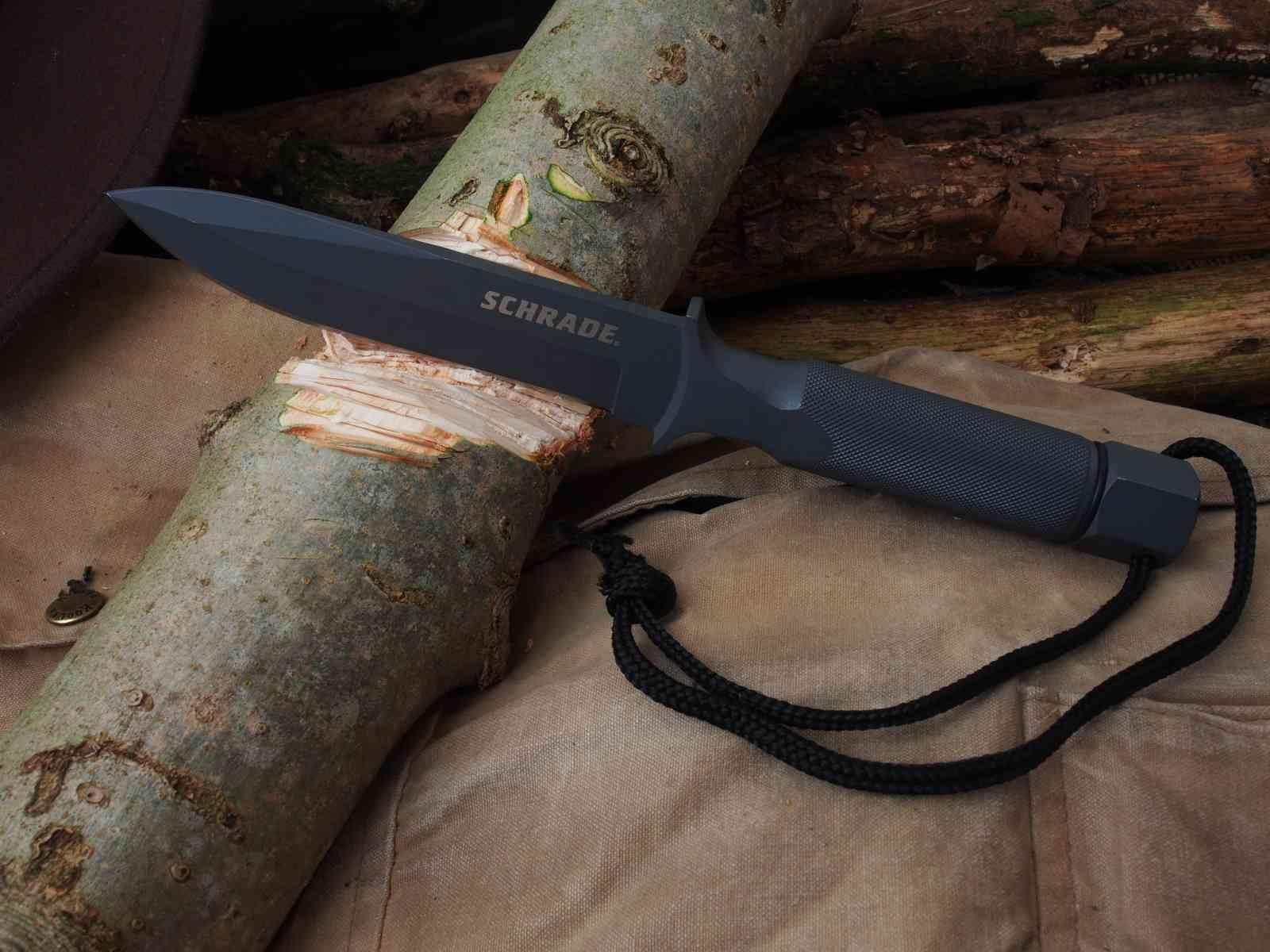 Schrade Extreme Survival Knife SCHF1SM - Hackarbeiten