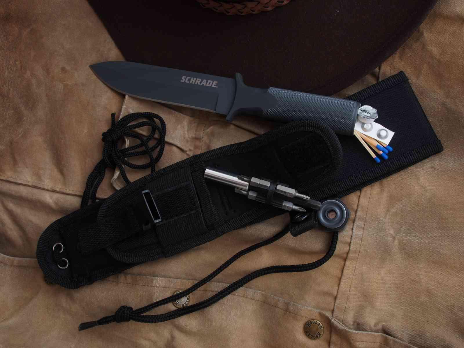 Schrade Extreme Survival Knife SCHF1SM - Der Hohlgriff