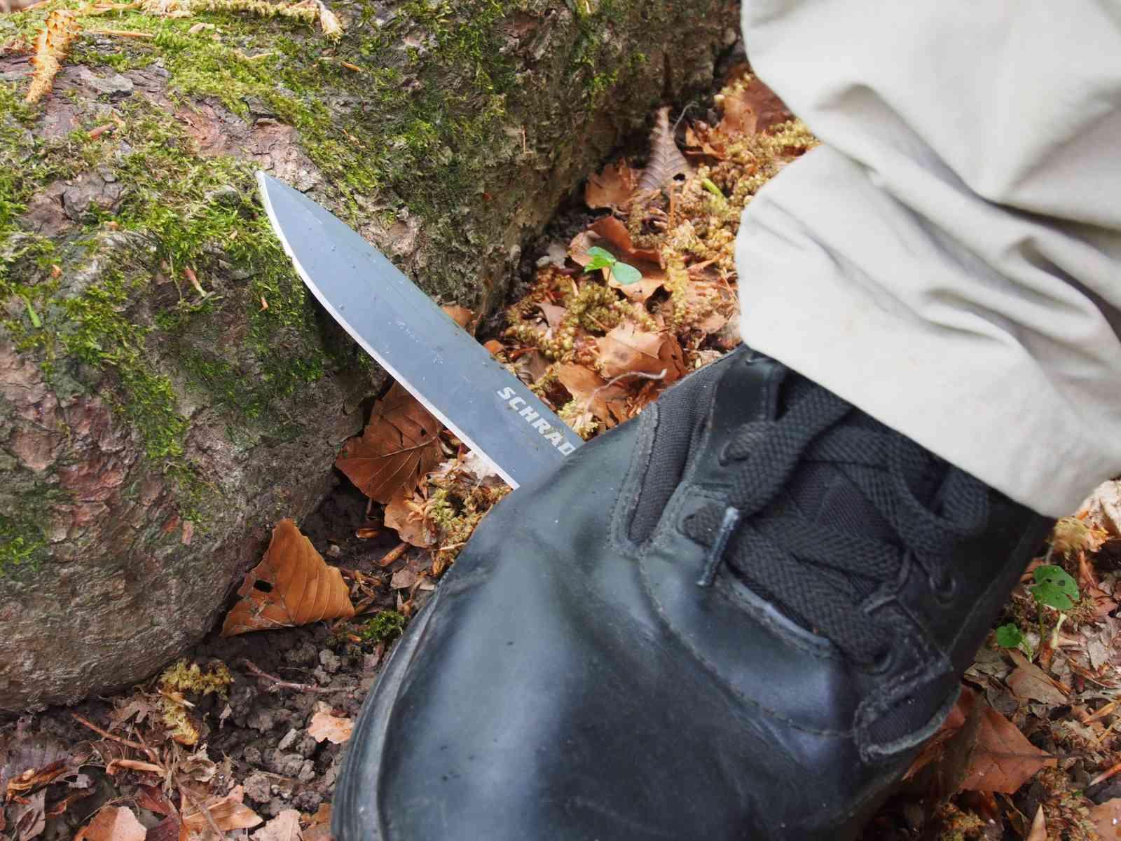 Schrade Extreme Survival Knife SCHF1SM - Widerstandsfähigkeit