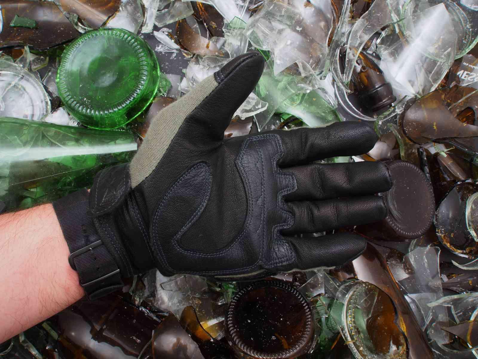 WileyX Hybrid - Handfläche