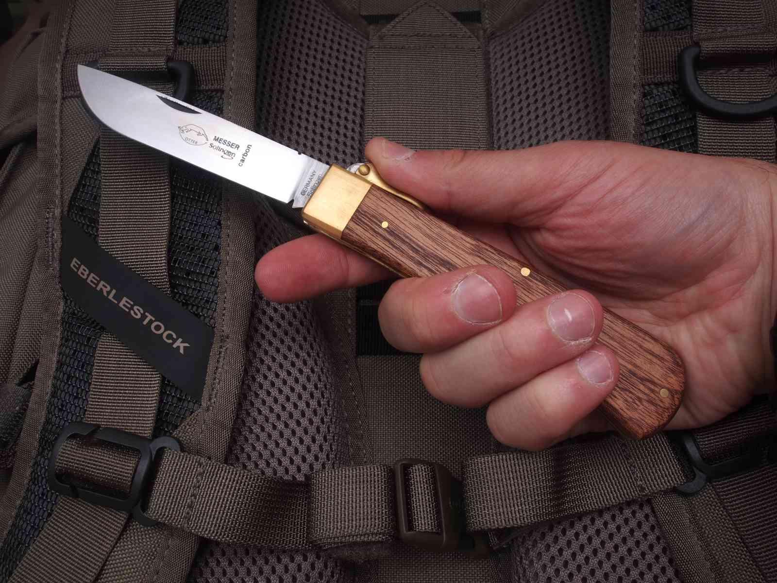 Otter Klappbügel-Messer - Handlage