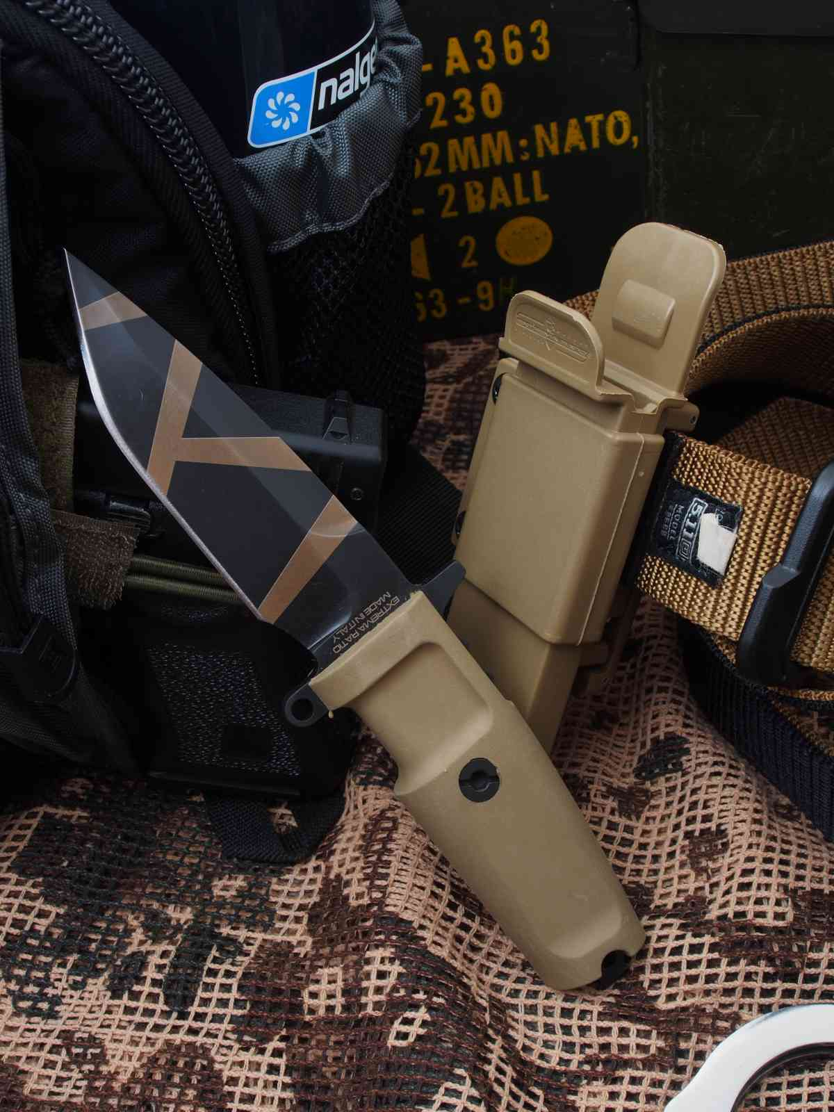 Extrema Ratio Col Moschin Compact Desert Warfare 4