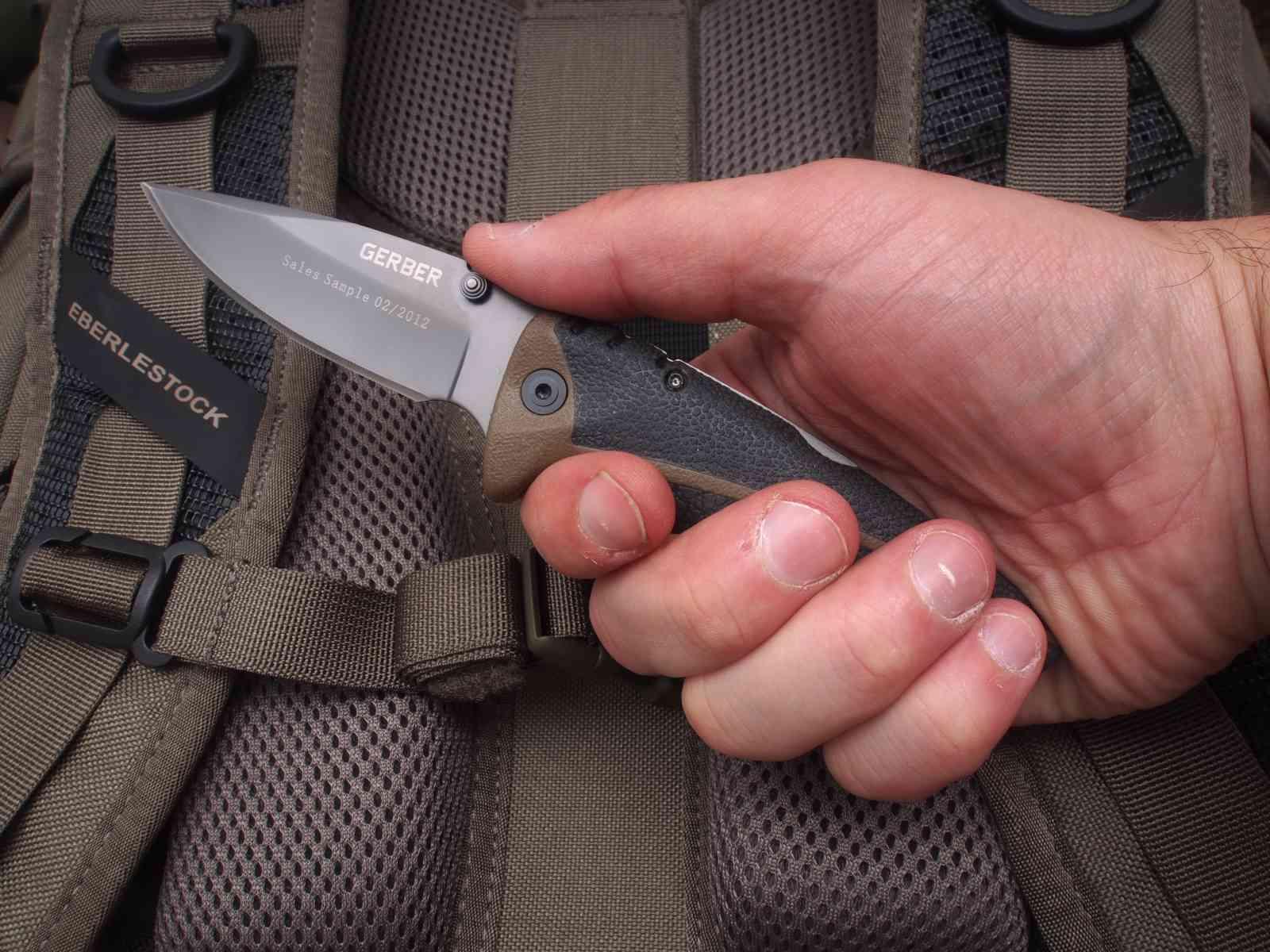 Gerber Myth Pocket Folder - eher kleines Messer