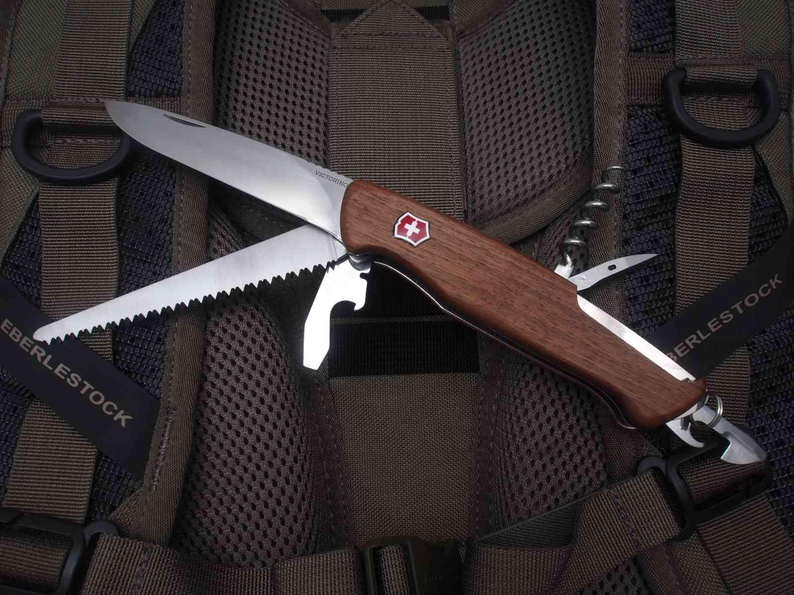 Victorinox Ranger Wood 55 - Funktionsvielfalt