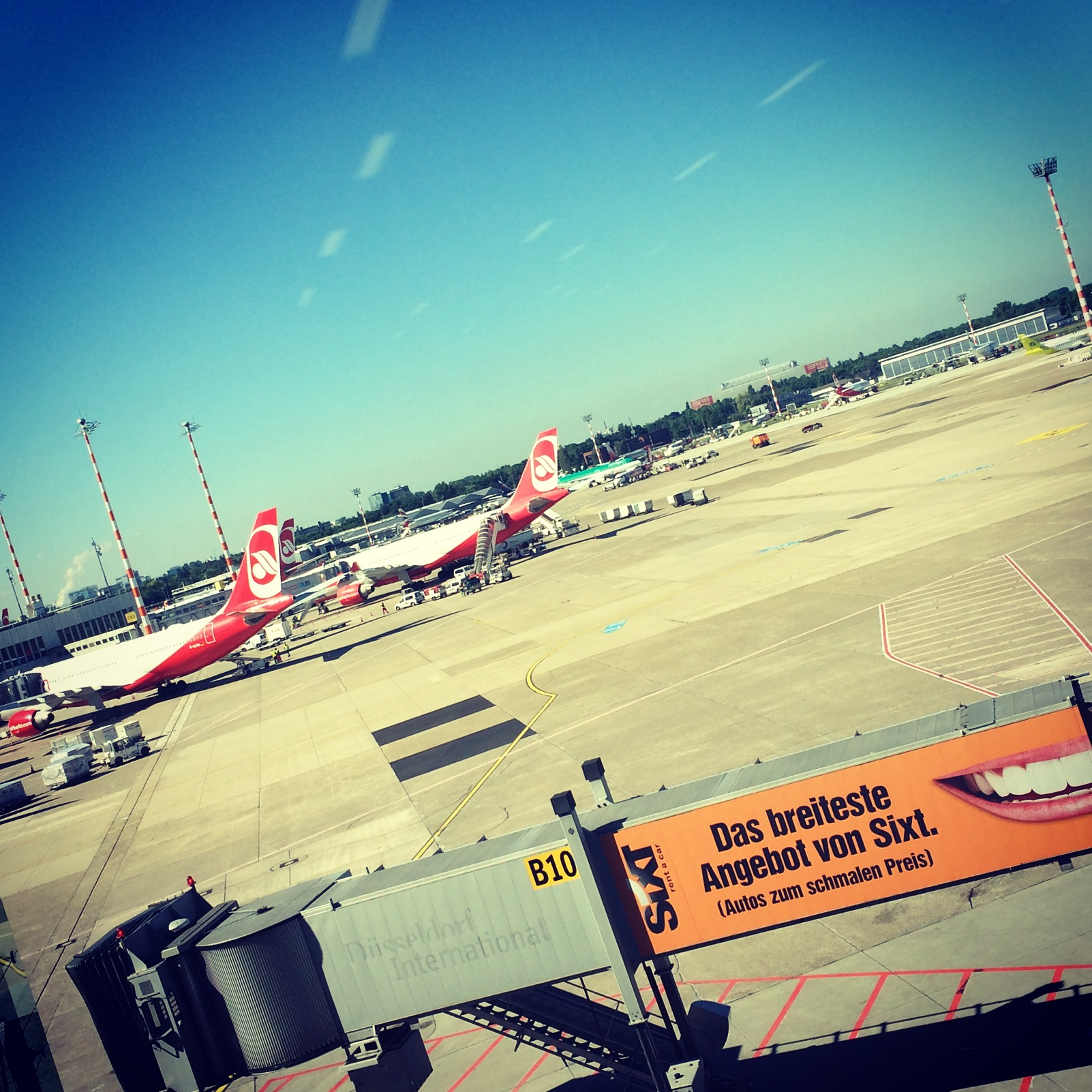 Auf nach La Gomera - Flughafen Düsseldorf