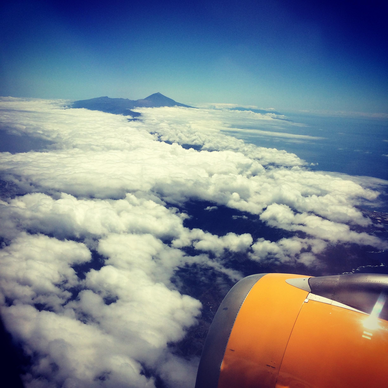 Auf nach La Gomera - Landeanflug