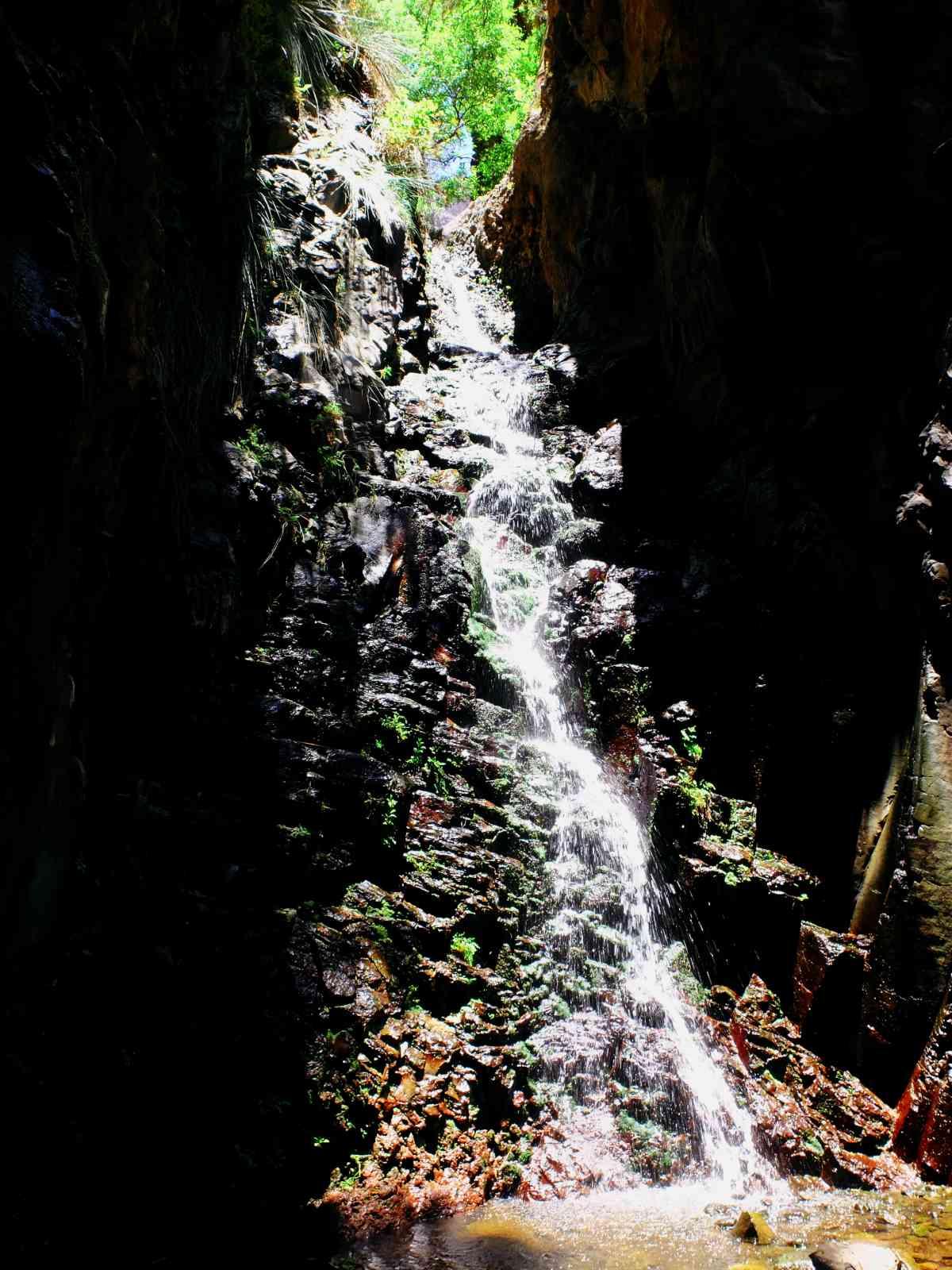 Der Wasserfall von El Guro