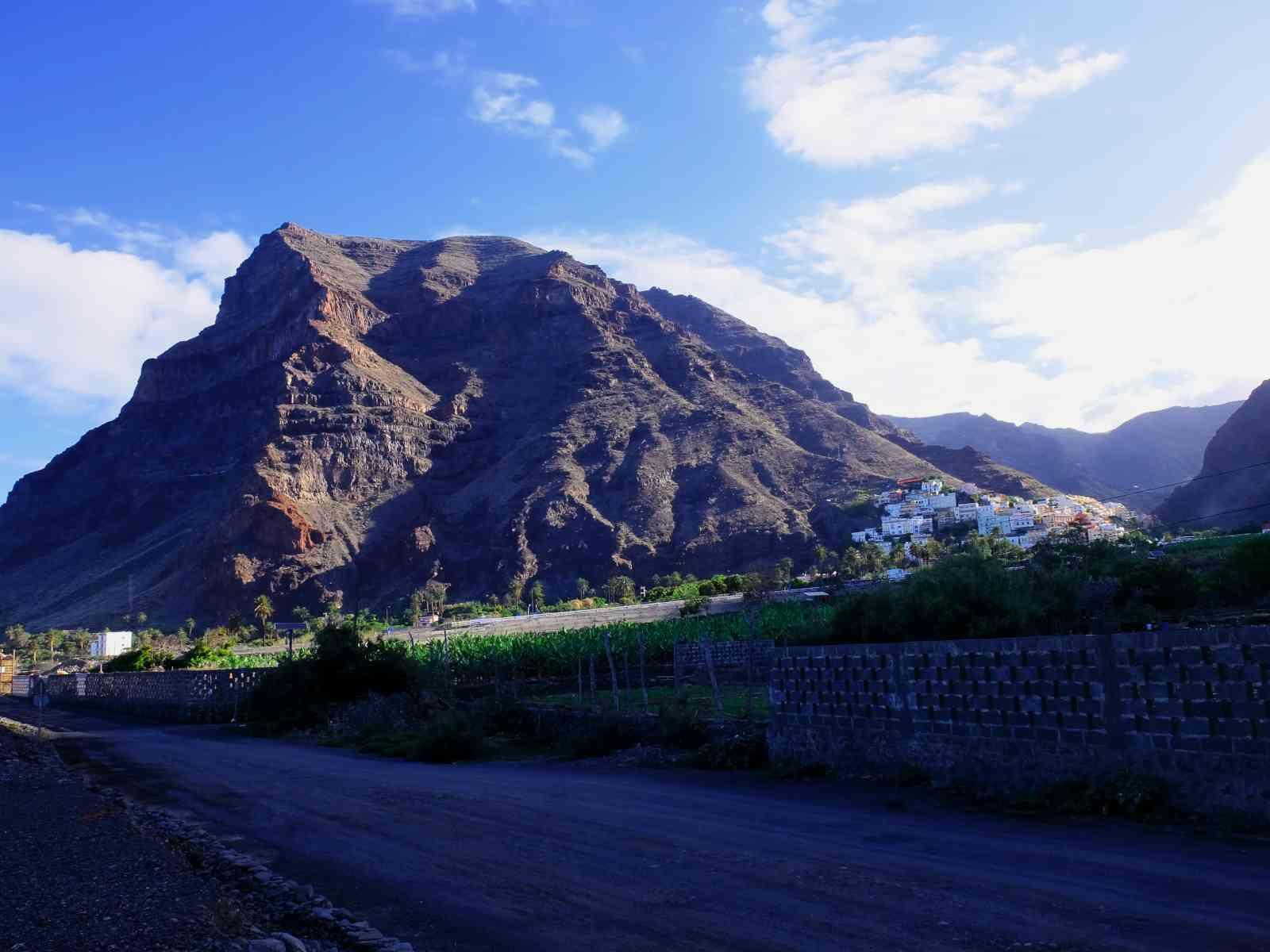 Le Mérica von Valle Gran Rey aus