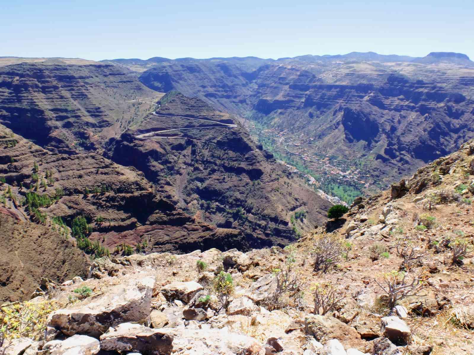 Talblick Valle Gran Rey