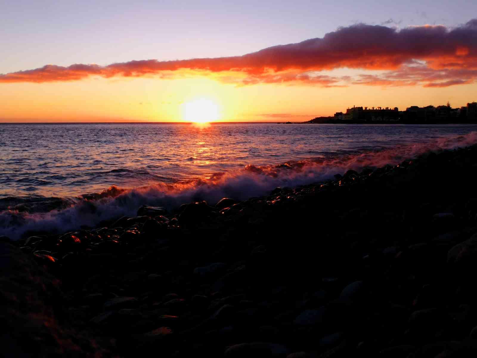 Valle Gran Rey - Sonnenuntergang