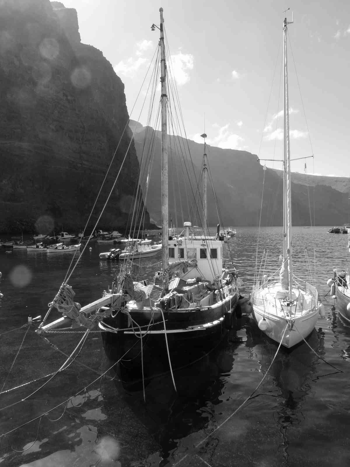 Valle Gran Rey - Der Hafen