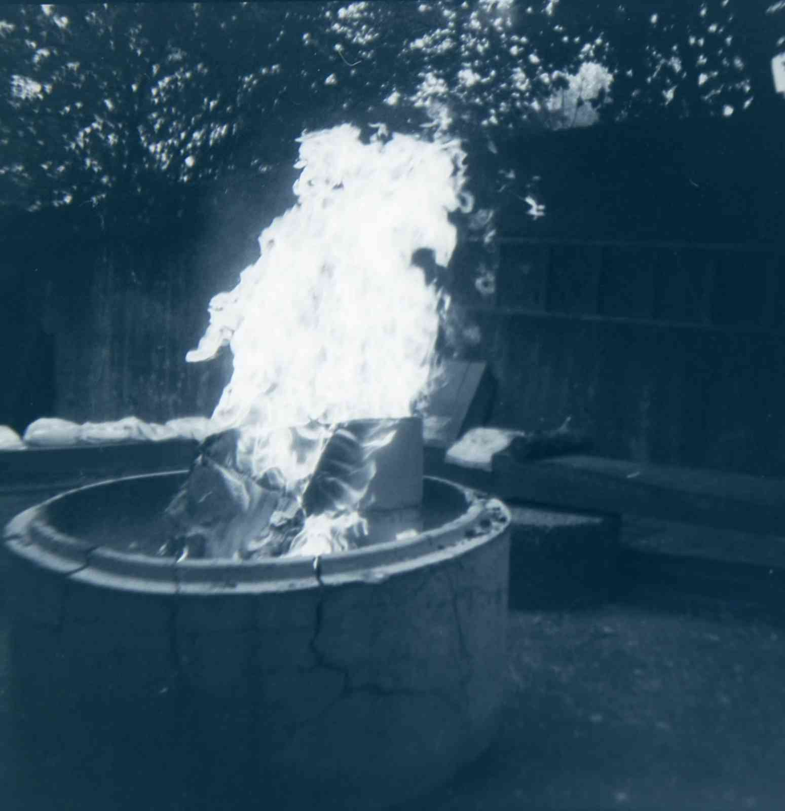 Analoge Fotografie - Fire