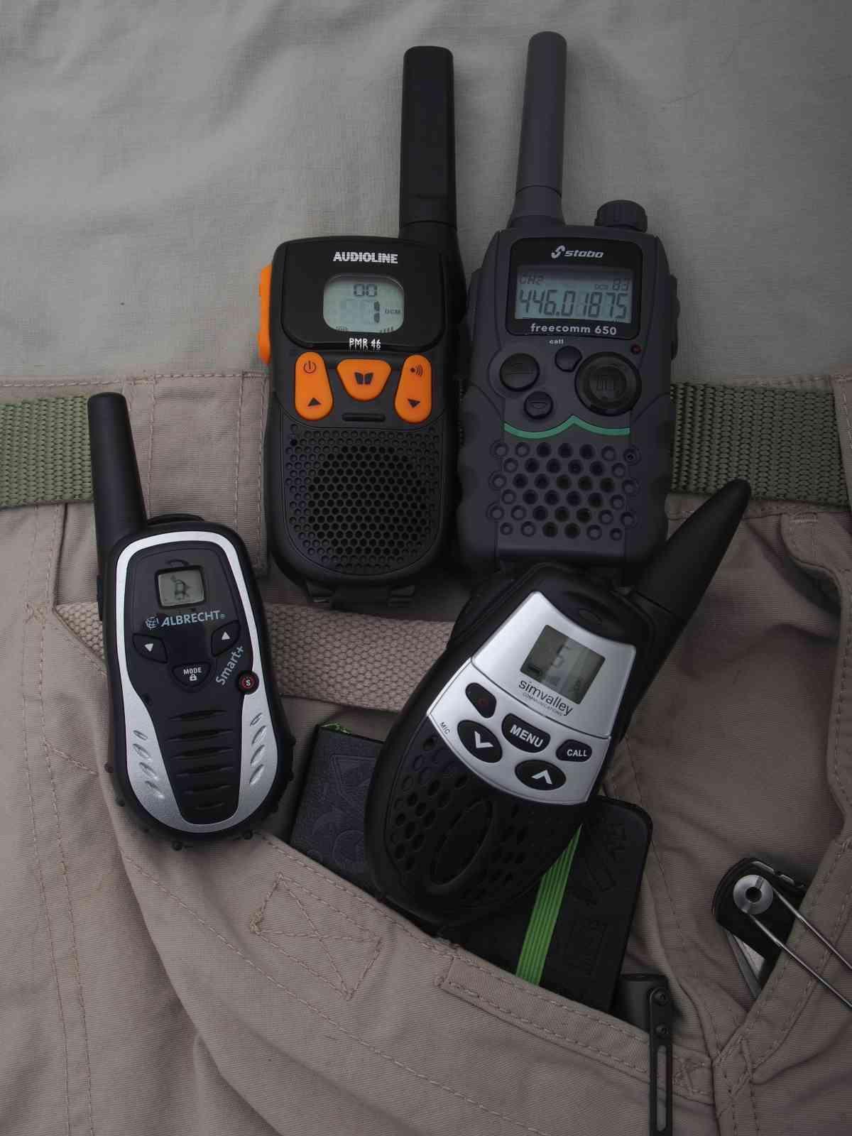 Walkie-Talkie - PMR-Funkgeräte im Test