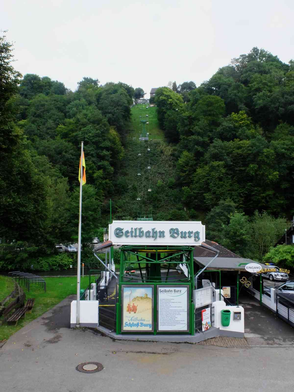 Um die Müngstener Brücke - Unterburg, Solingen