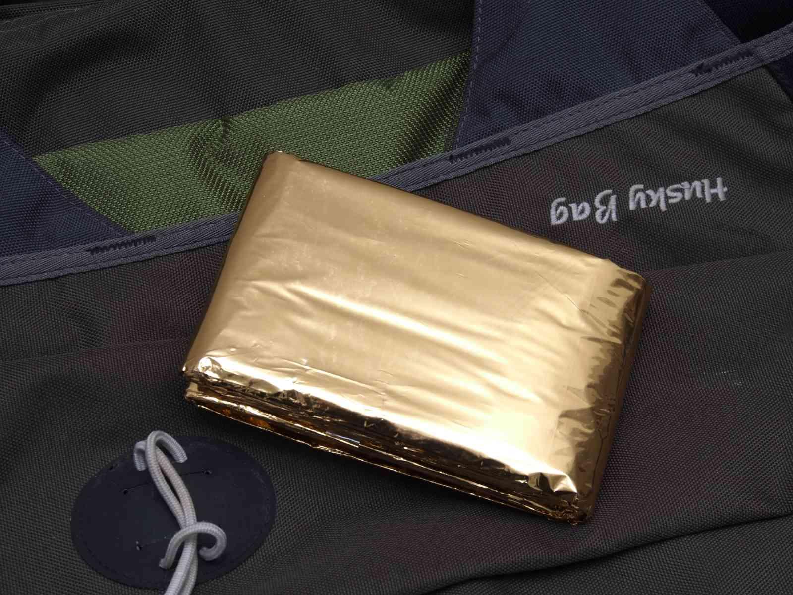 Survival-Kit Packliste - Rettungsdecke