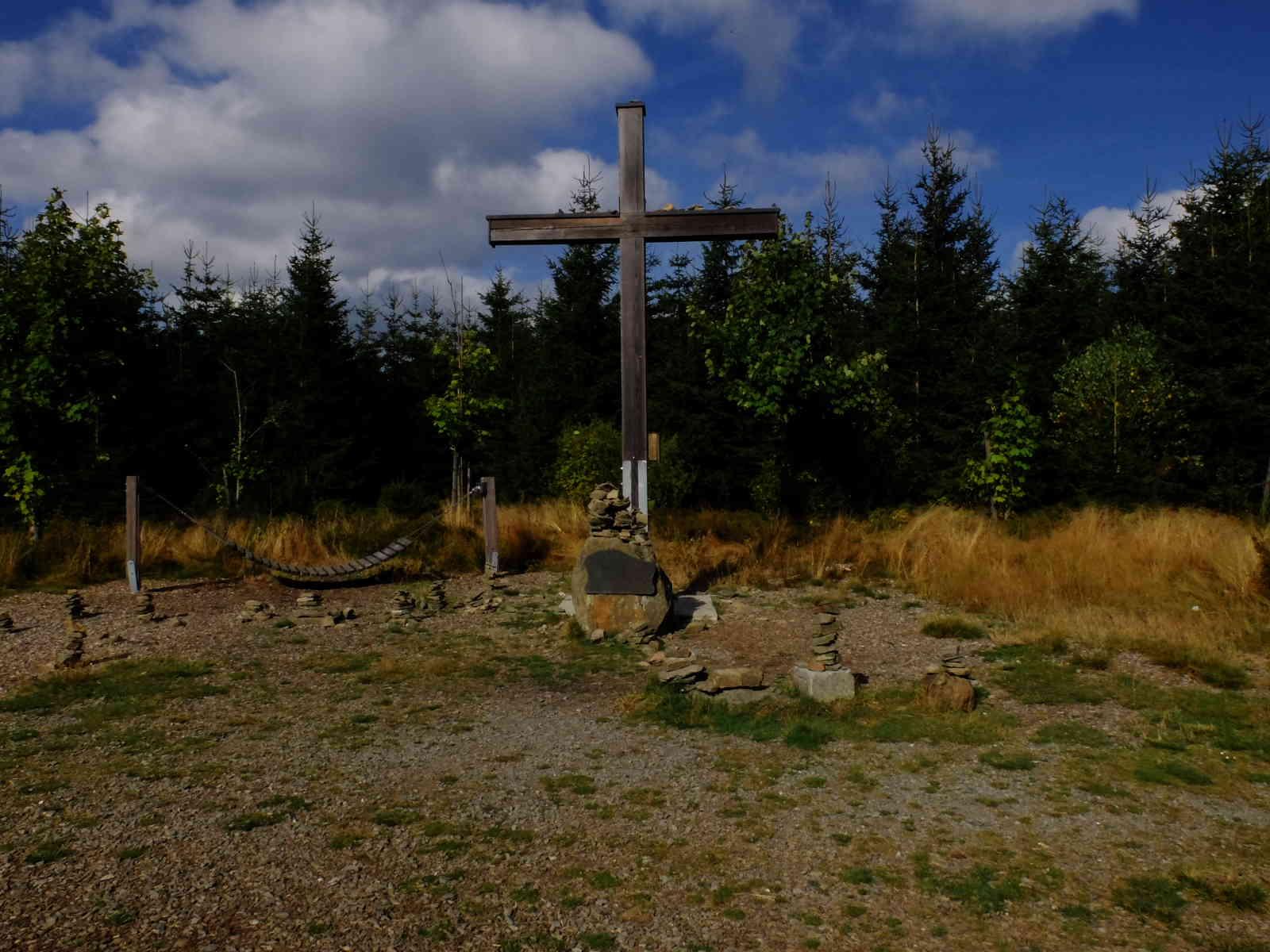Rothaarsteig Etappe 2 - Gipfelkreuz