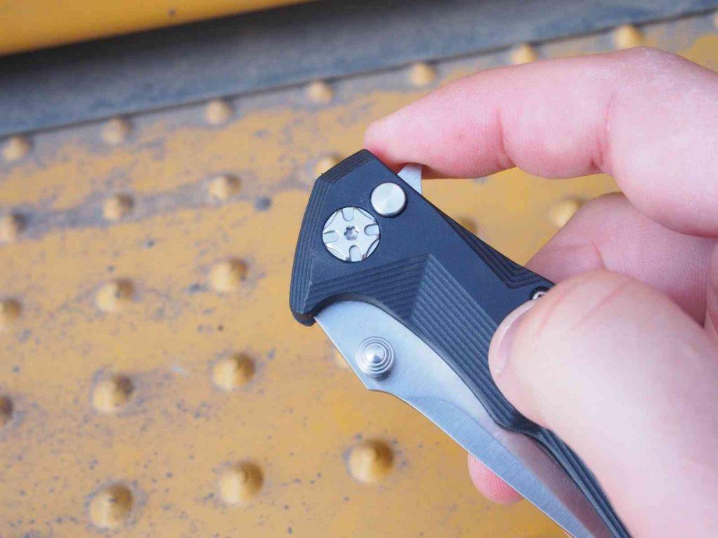 Öffnungshilfen beim Fixed: Flipper oder Daumenpin