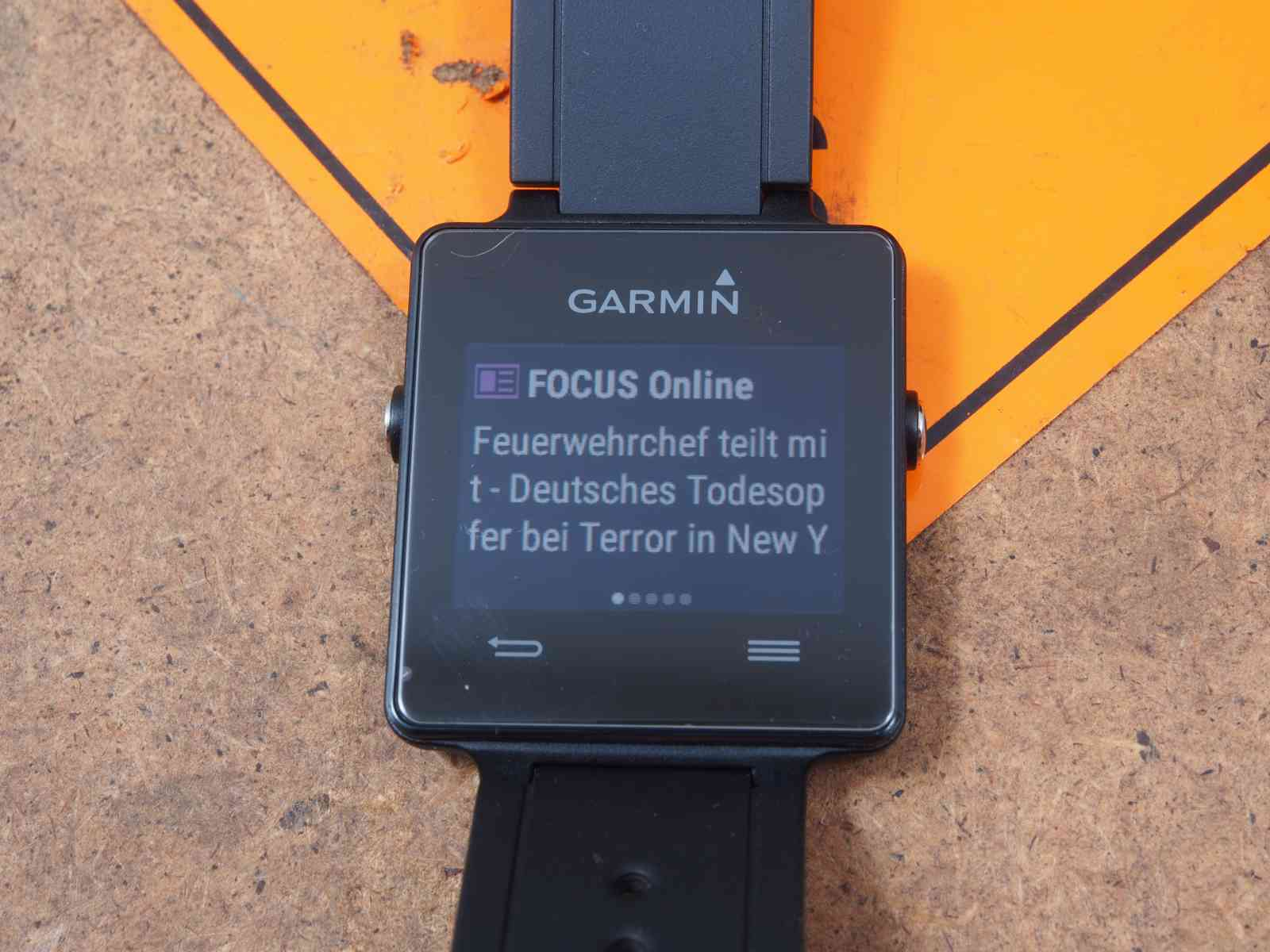 Garmin Vivoactive - Smart Notification