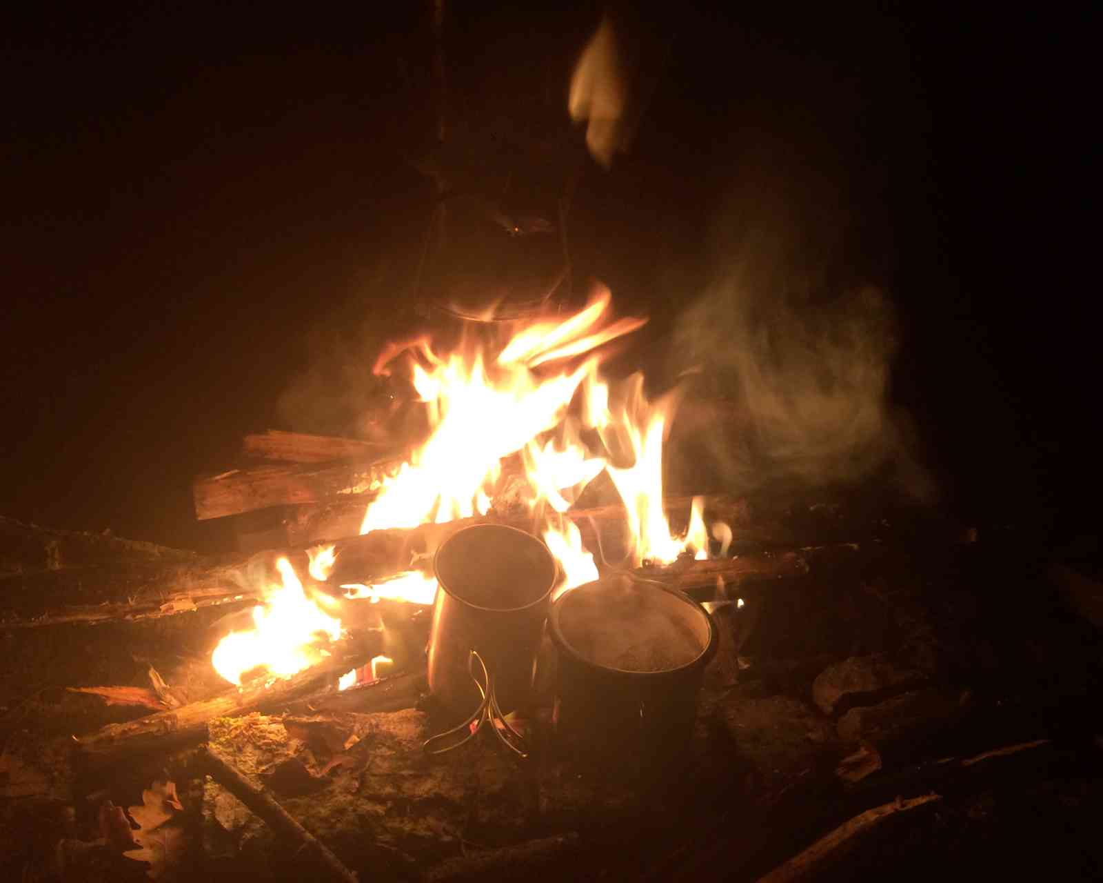 Eine scheißkalte Nacht - Feuer. Das Problemthema