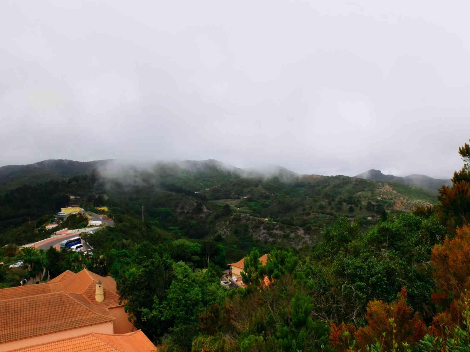 Inselrundfahrt La Gomera - Blick vom Besucherzentrum