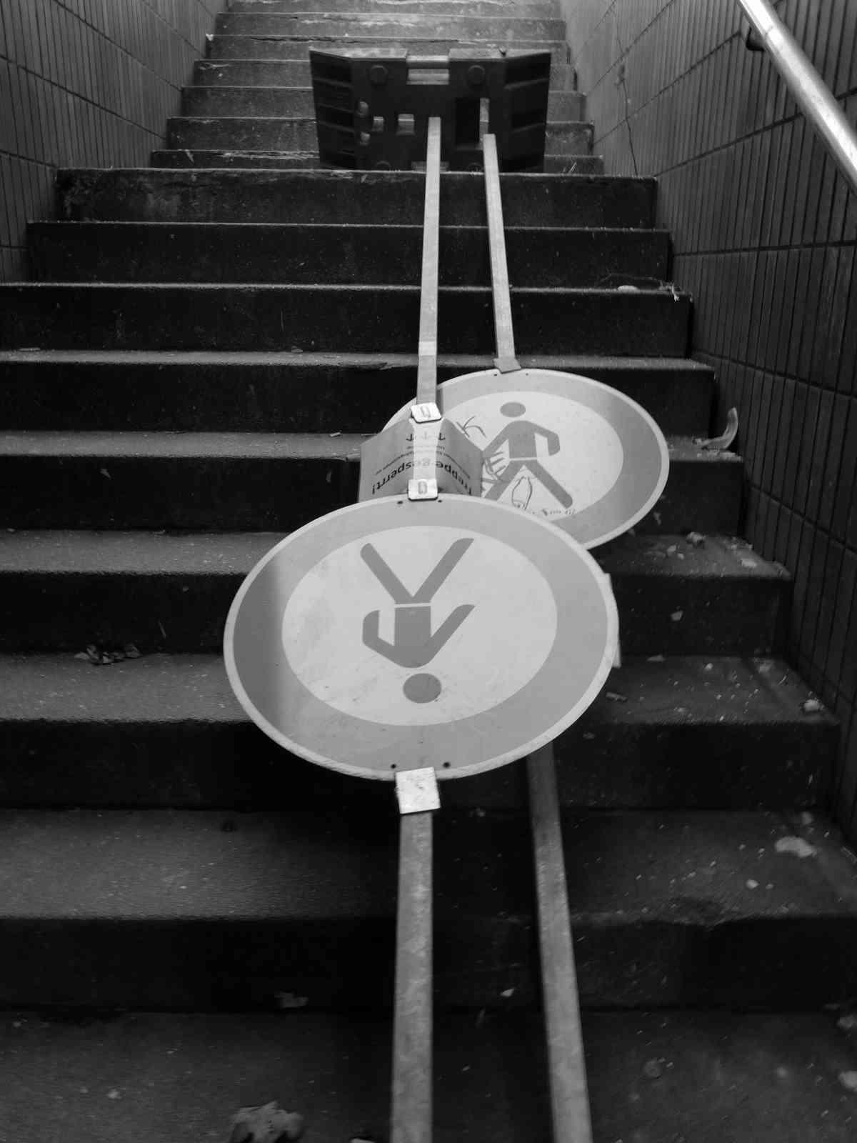 Im Untergrund - Kein Fußeweg