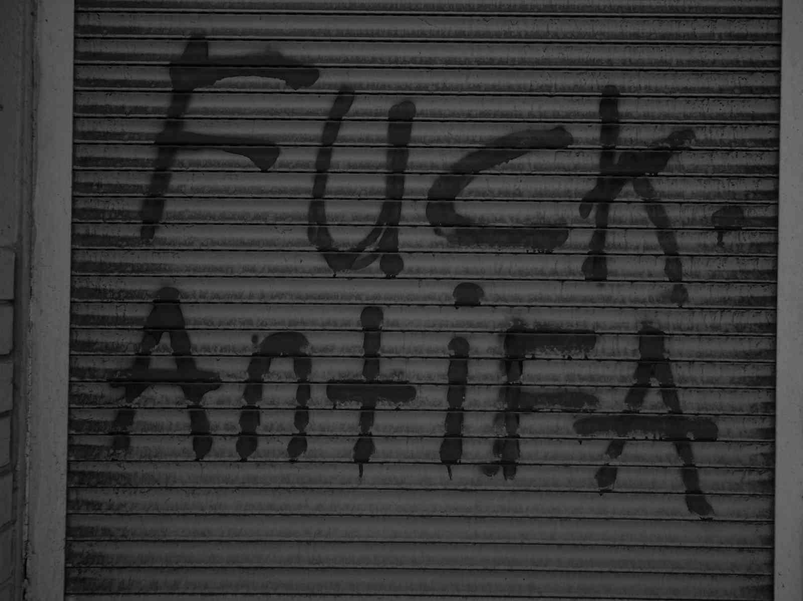 Lost Place am Zoo - Fuck Antifa