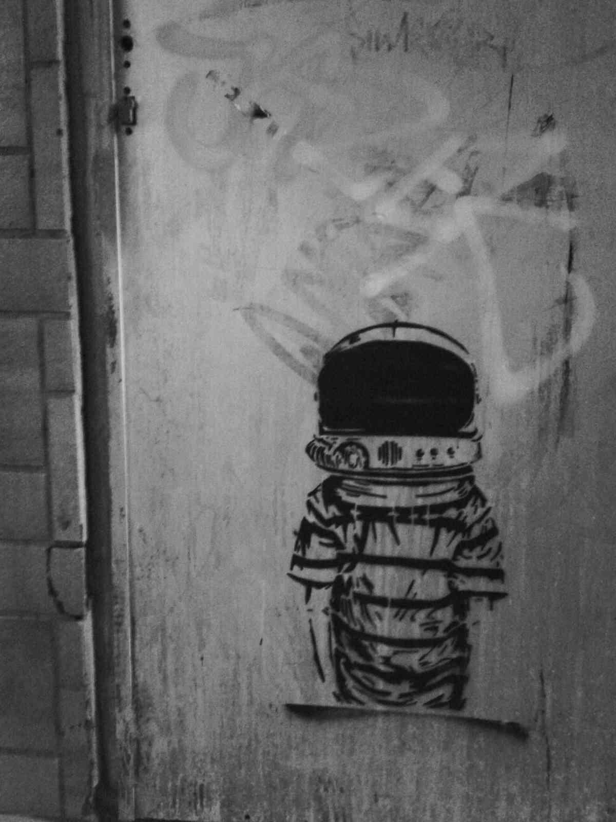 Im Untergrund - Ein Astronaut im Untergrund