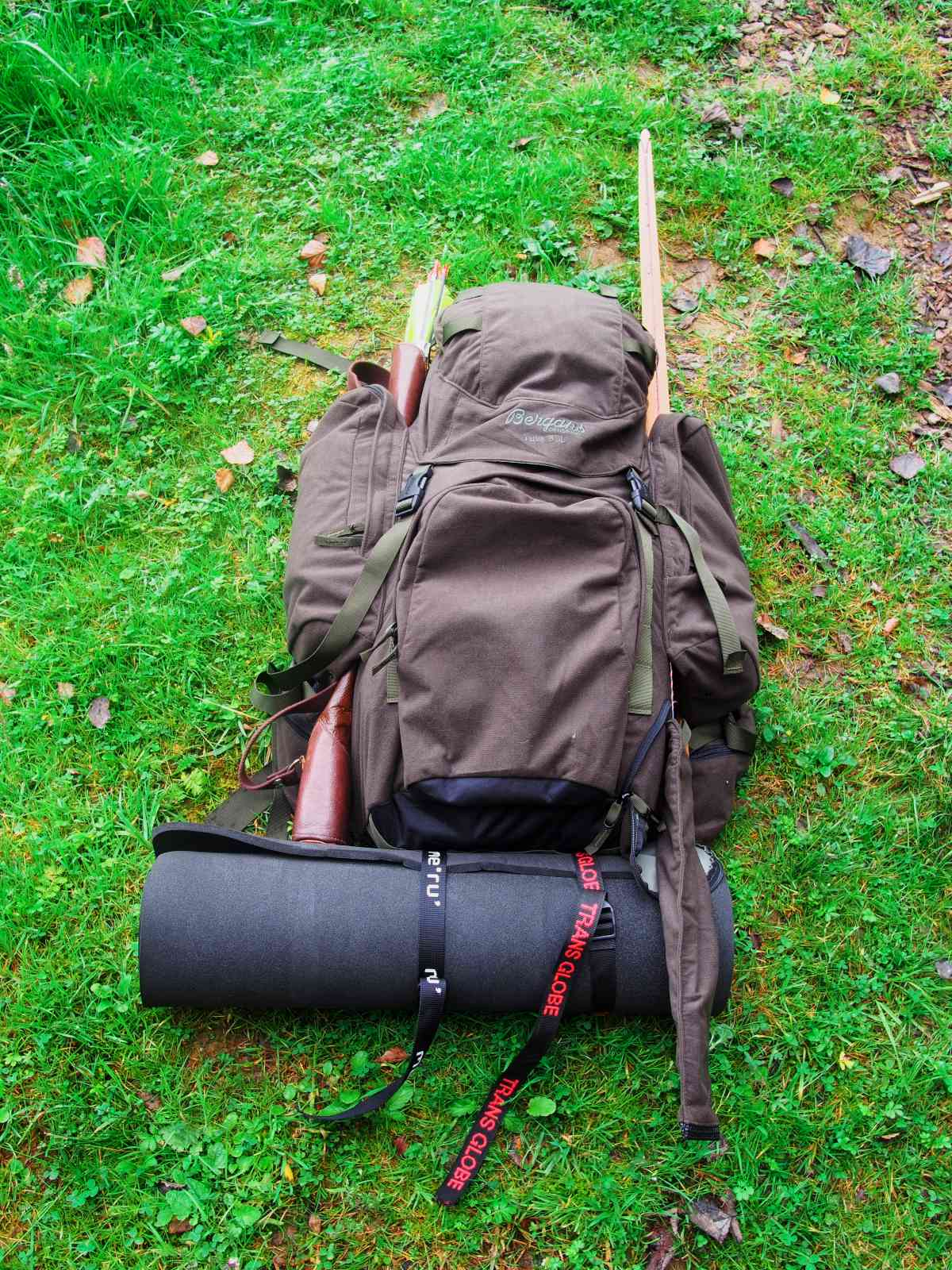 Bergans Tuva Huntpack - Material ist leise saugt sich aber voll Regen