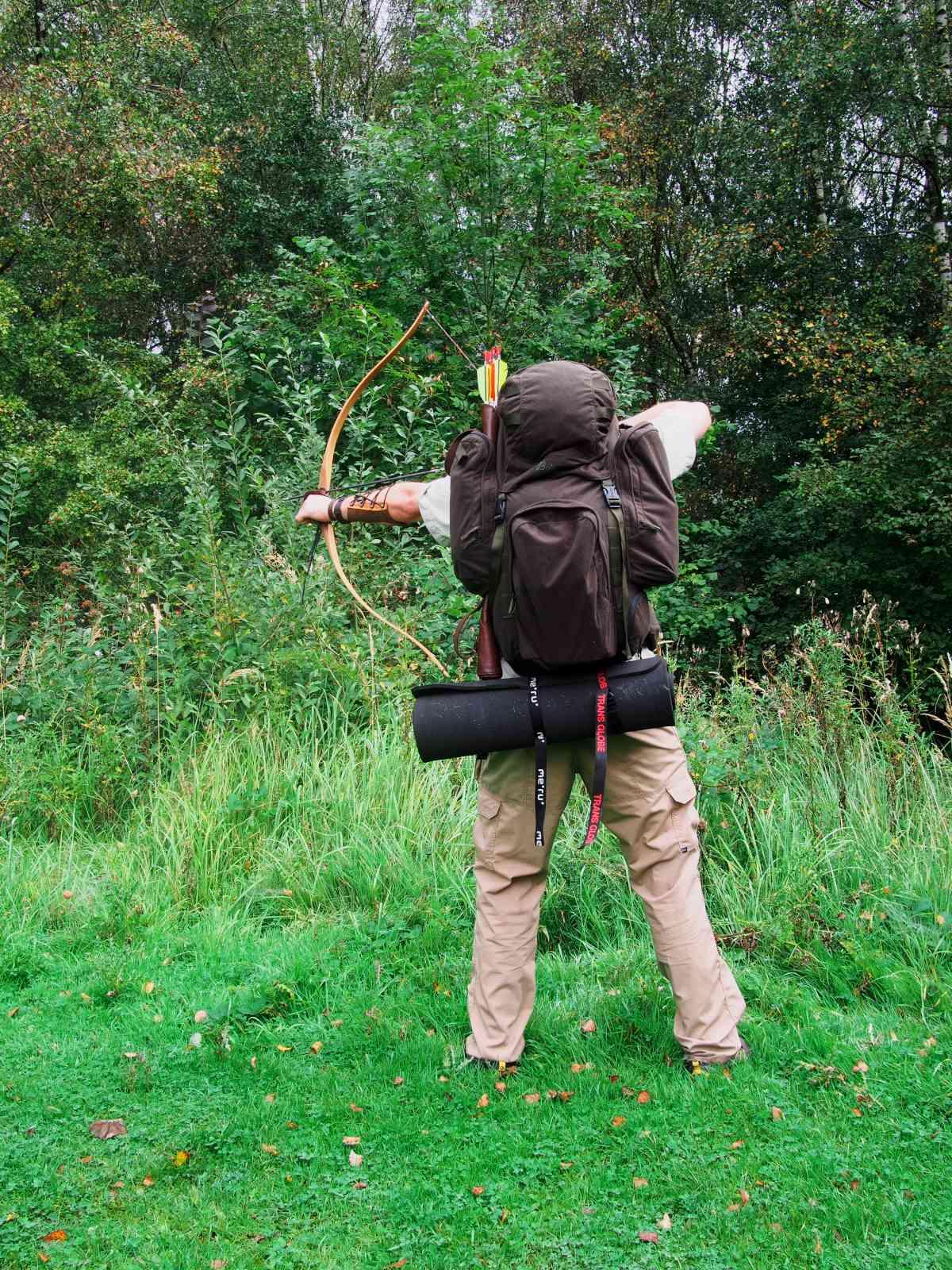 Bergans Tuva Huntpack - Im Wald nicht optimal