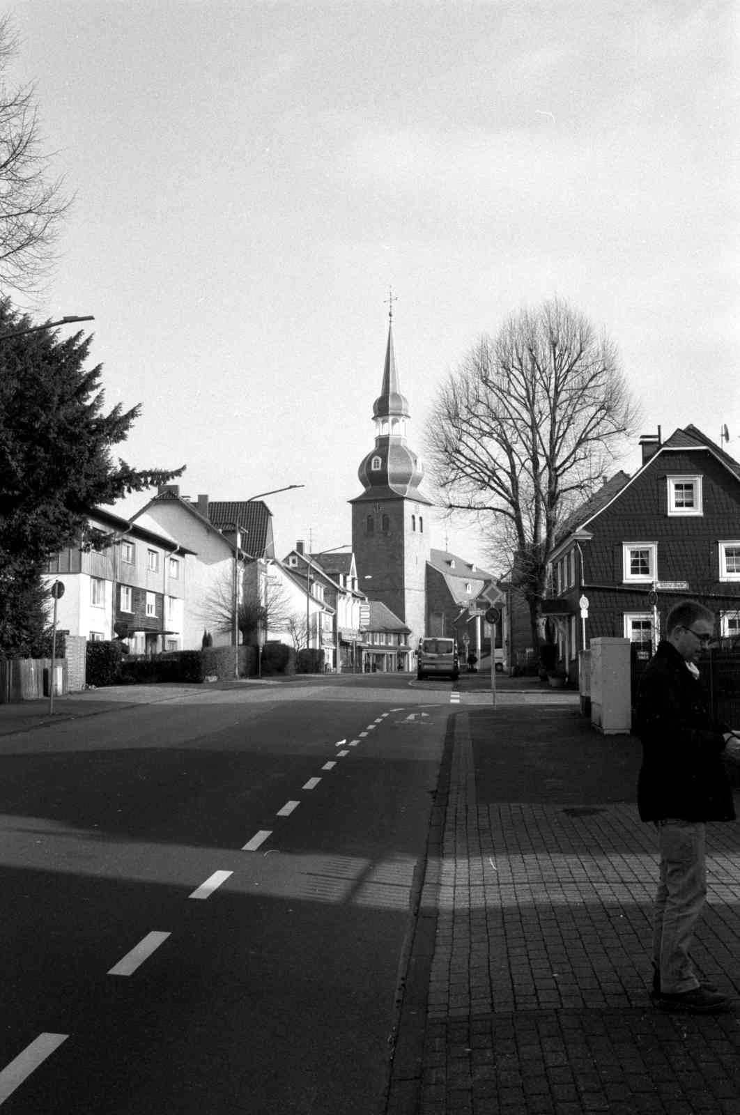 Fotowalk in Cronenberg - Kirche in Cronenberg 1