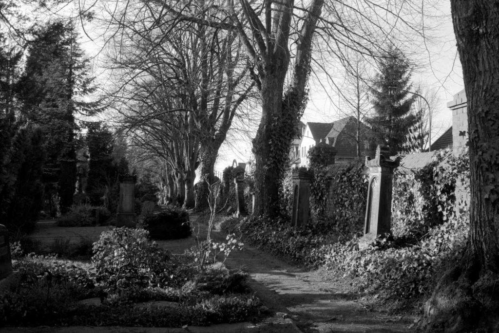 Eine Fototour auf einem Friedhof