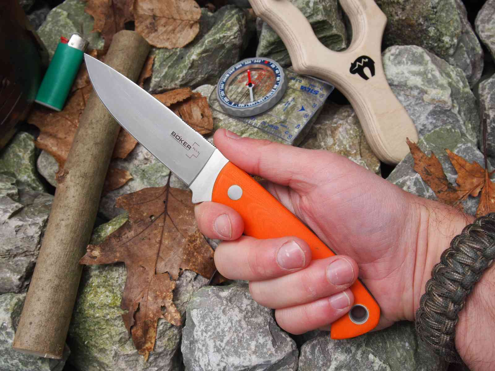 Böker Plus Bushcraft XL - Handlage