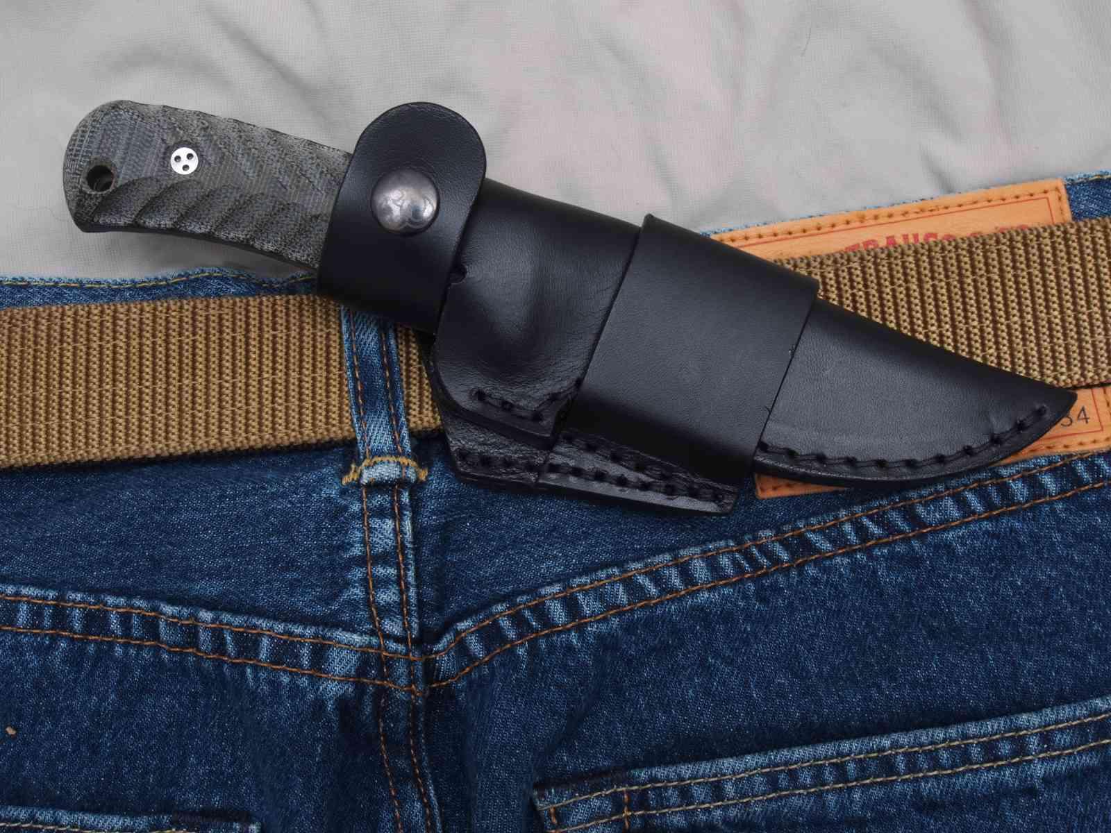 Kompakt im Alltag: Messerkönig MK10 Scout-Carry