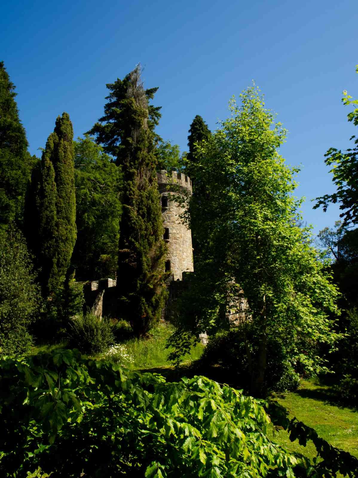 Powerscourt Gardens - Der Pfefferstreuer