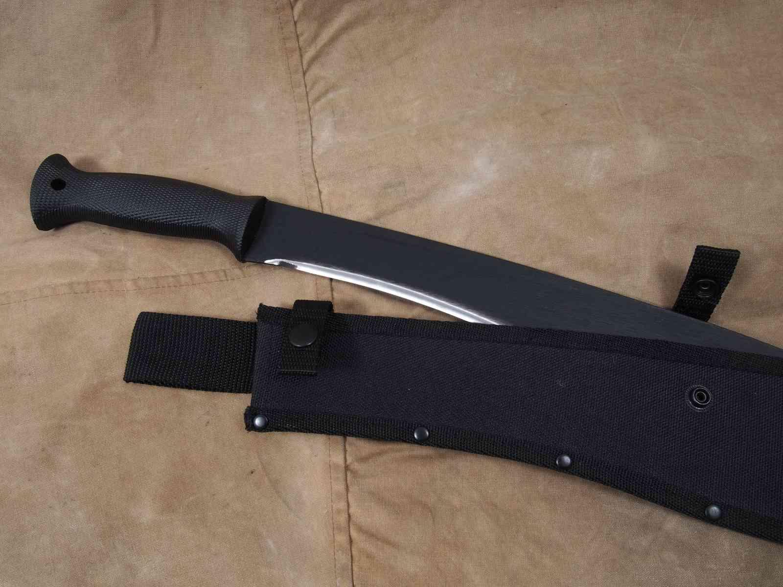 Cold Steel Kukri-Machete - Griff und Scheide
