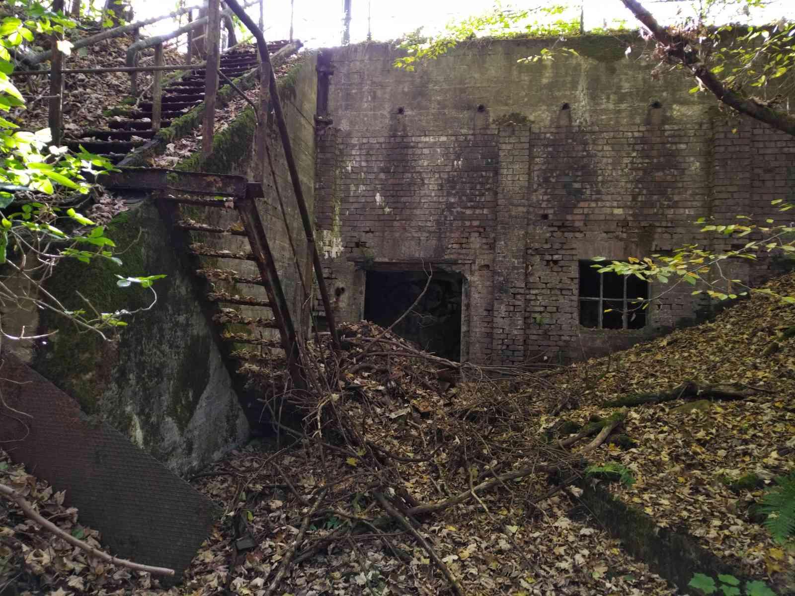 Biber-Suche an der Wuppertalsperre - 2. Lost Place