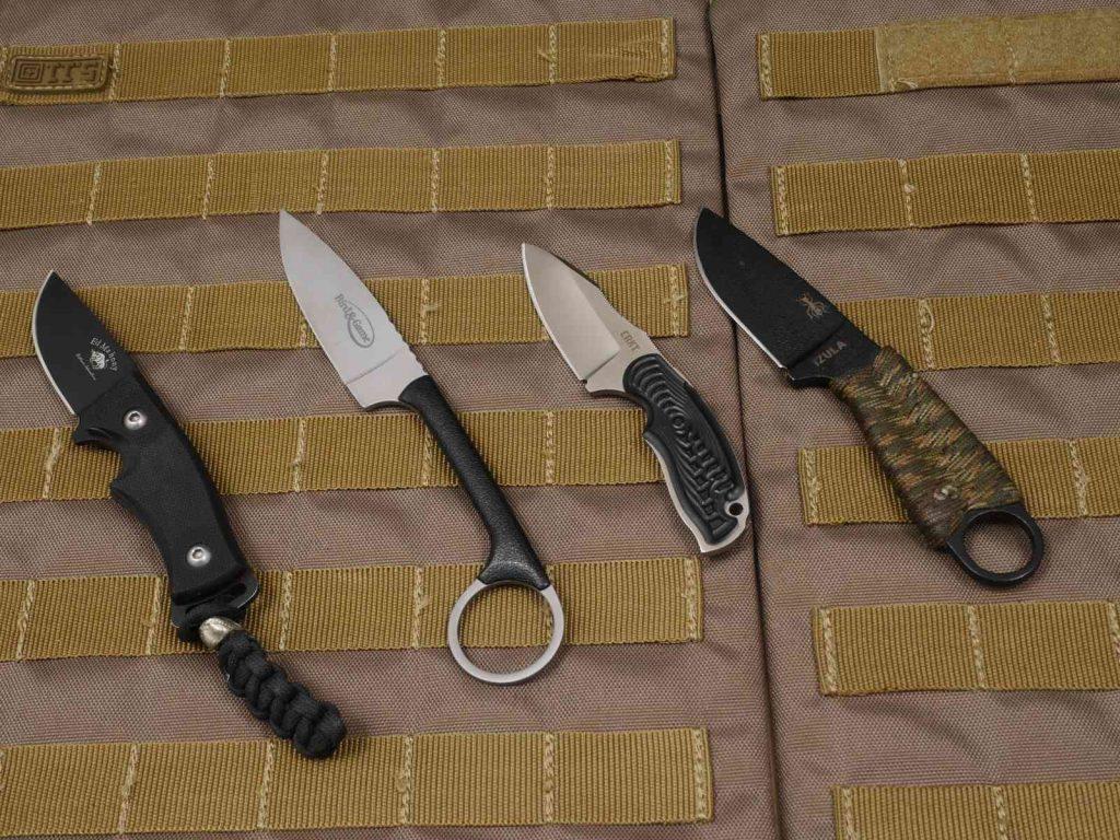 Kleine feststehende Messer
