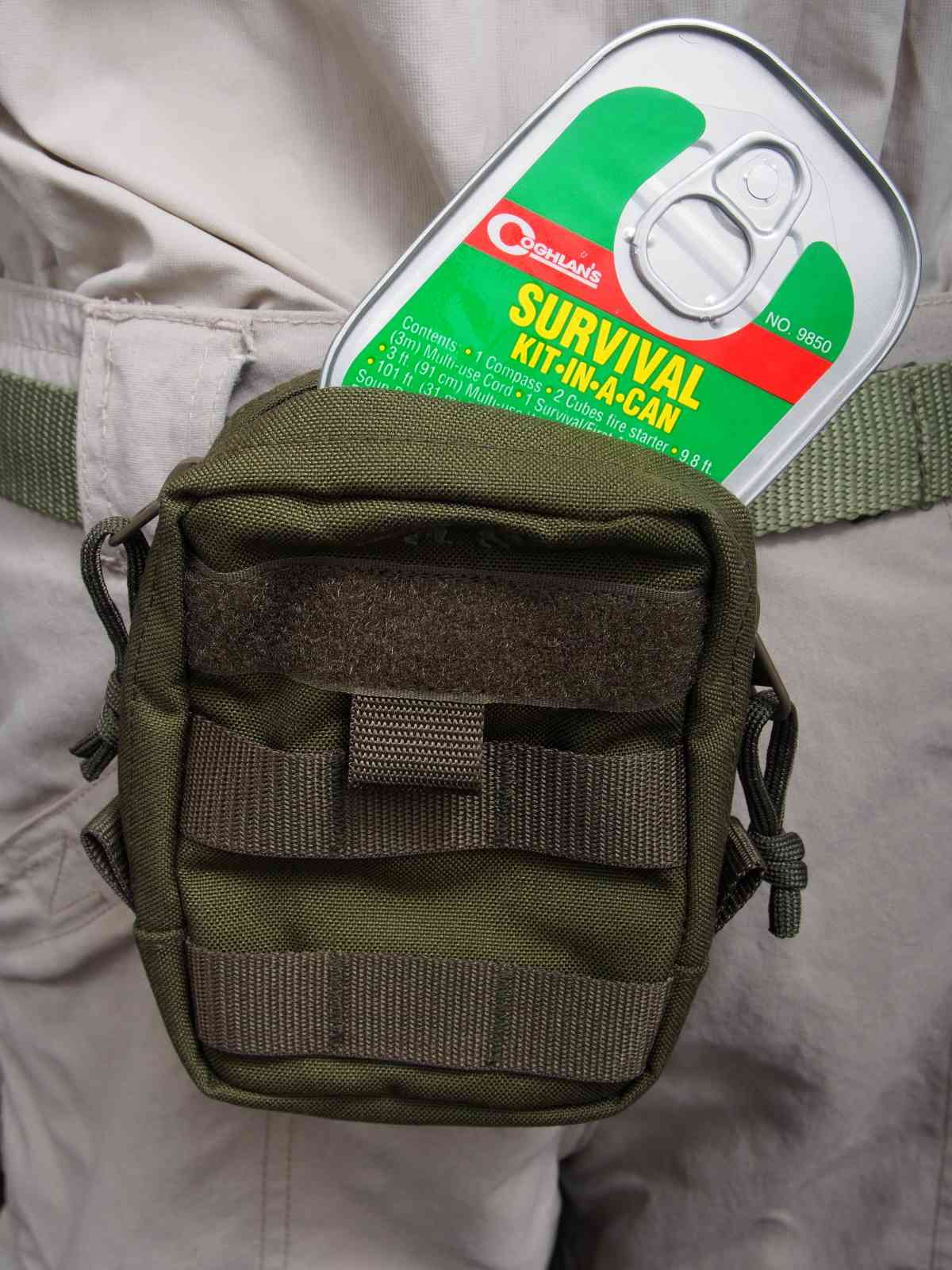 Coghlan's 01Coghlan's Survival-Kit - Kit-in-a-Can - Perfekt für das EDC