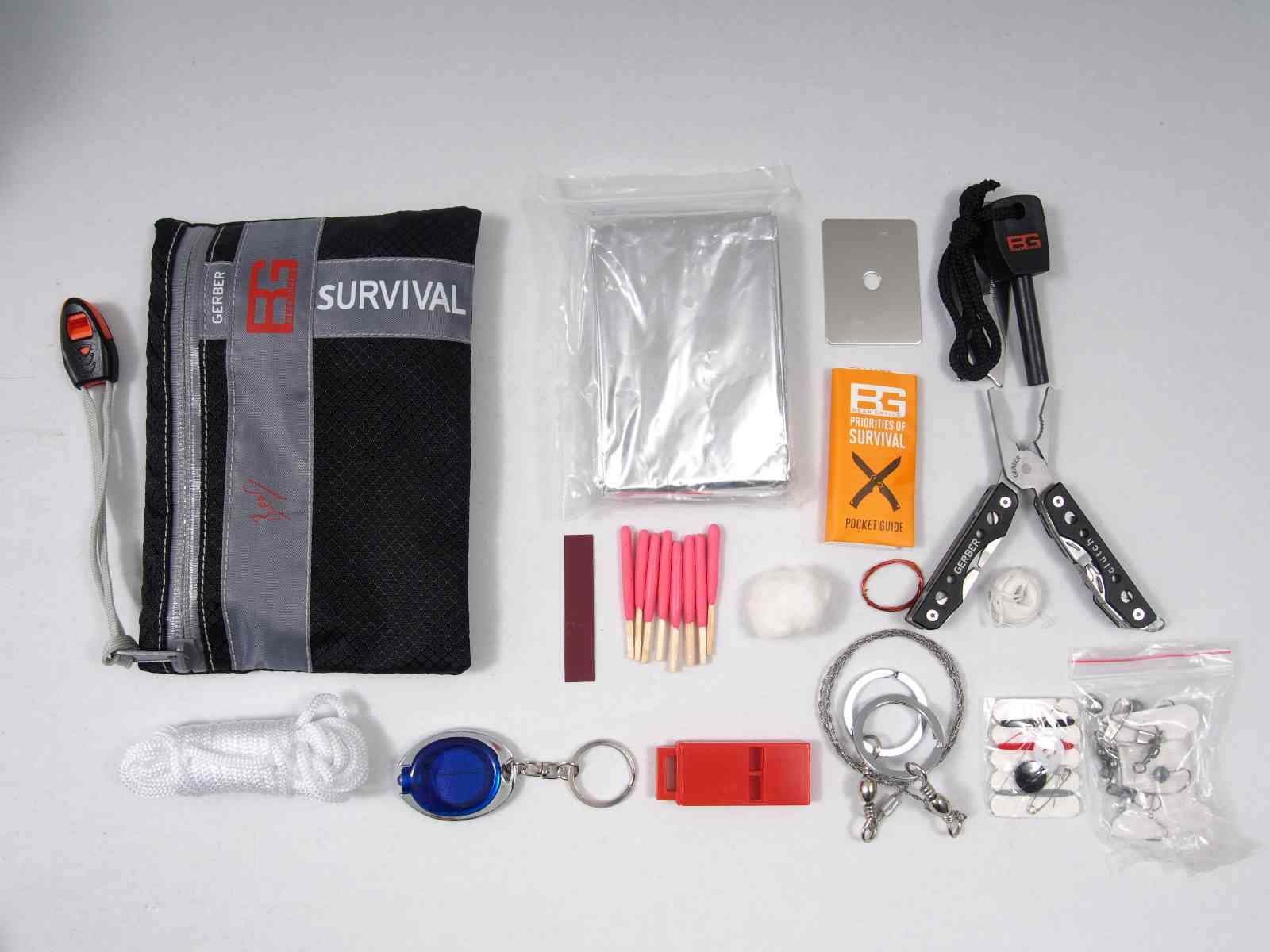 Gerber Bear Grylls Ultimate Survival Kit - Inhalt